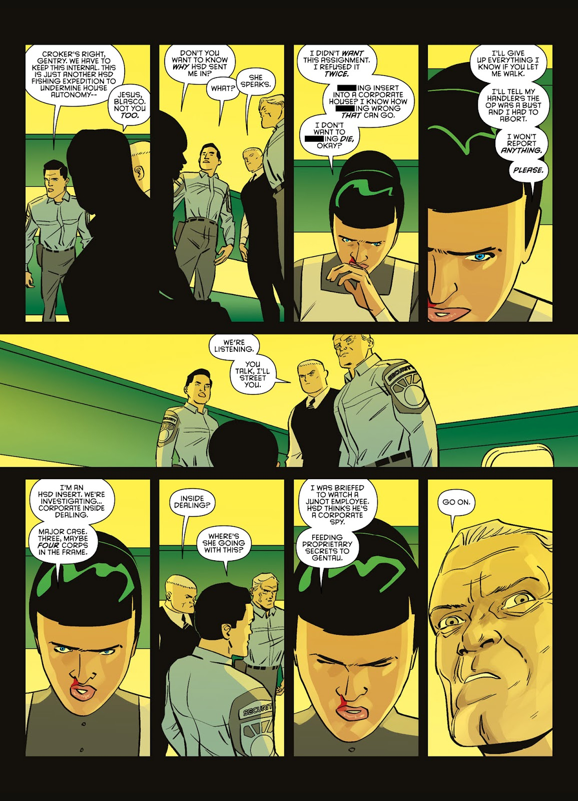 Read online Brink comic -  Issue # TPB 3 - 52