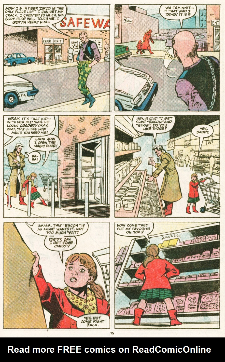 Read online Justice (1986) comic -  Issue #6 - 16