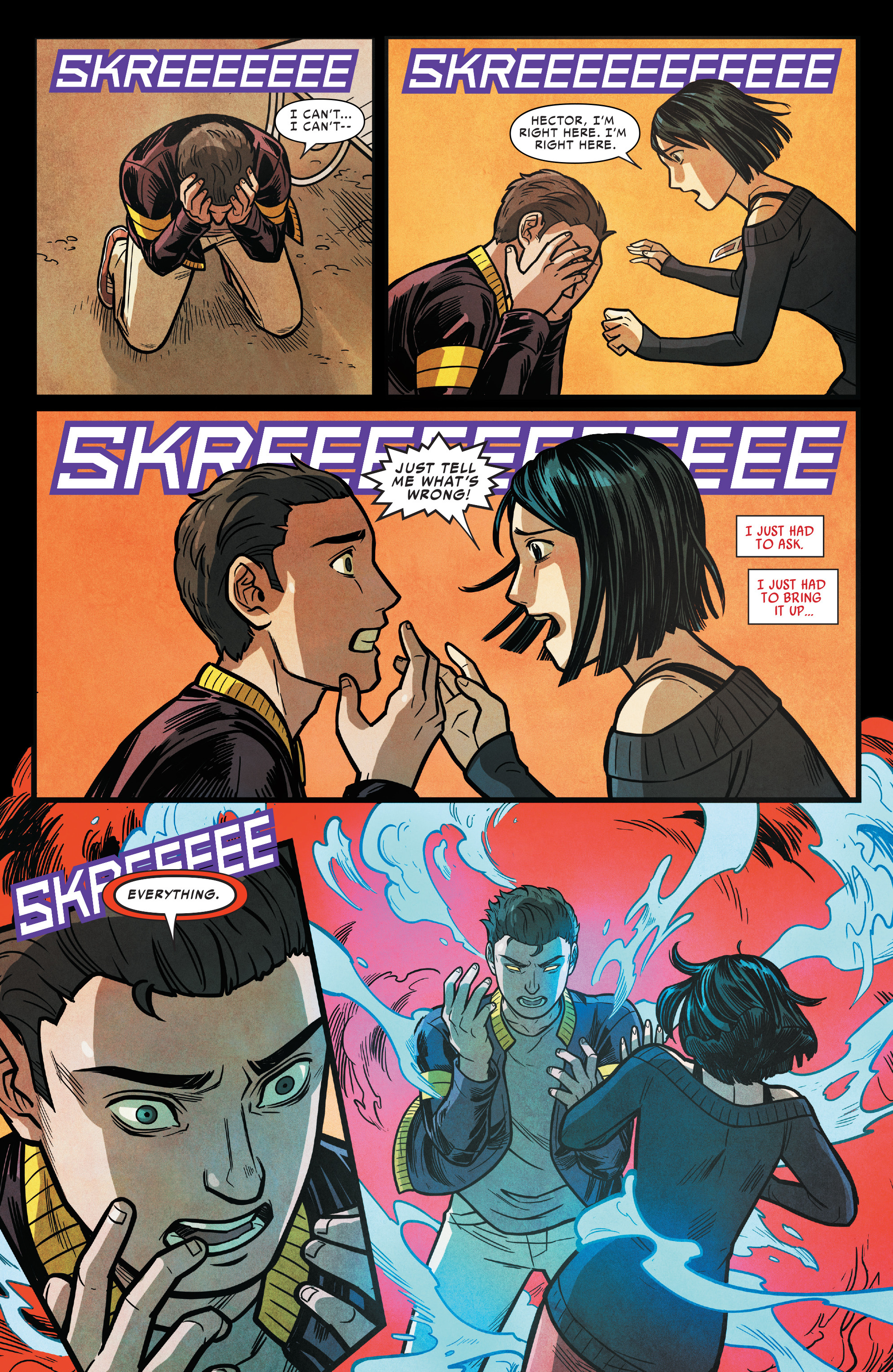 Read online Silk (2016) comic -  Issue #16 - 20