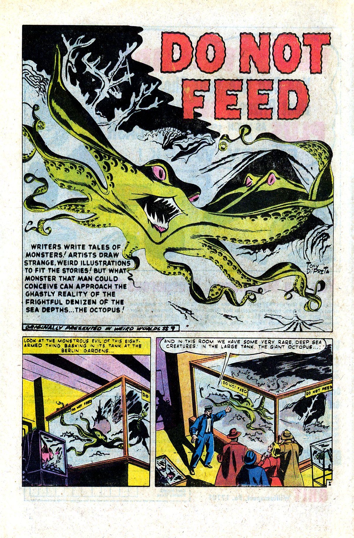 Read online Adventures into Weird Worlds comic -  Issue #9 - 7