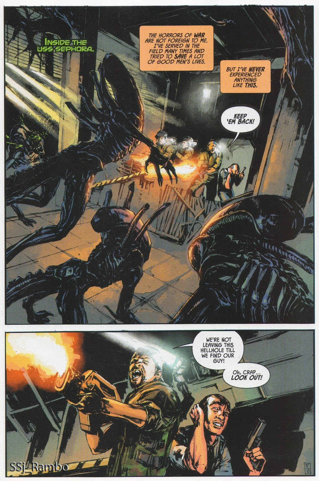 Read online Aliens: Colonial Marines - No Man Left Behind comic -  Issue # Full - 2