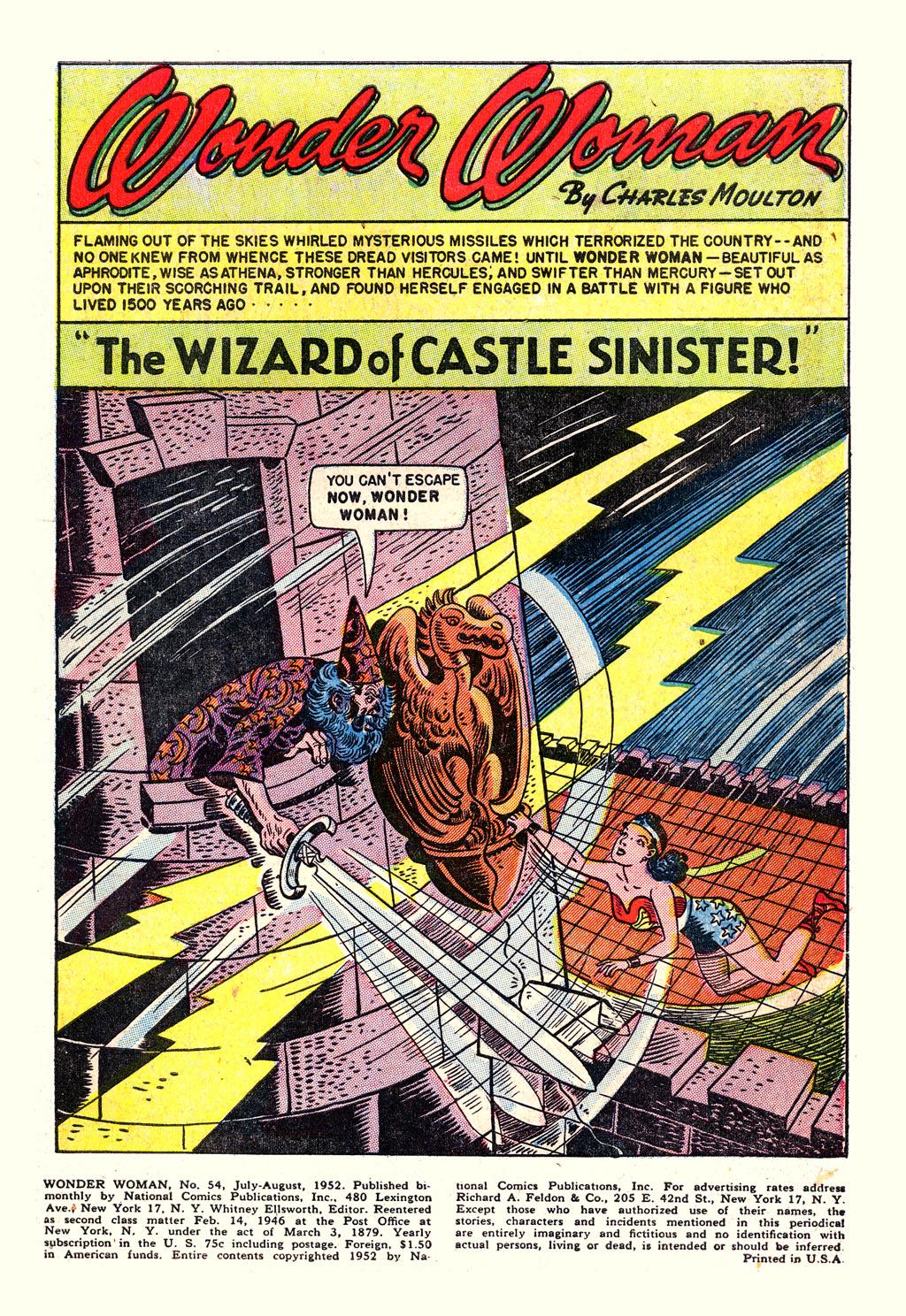 Read online Wonder Woman (1942) comic -  Issue #54 - 3