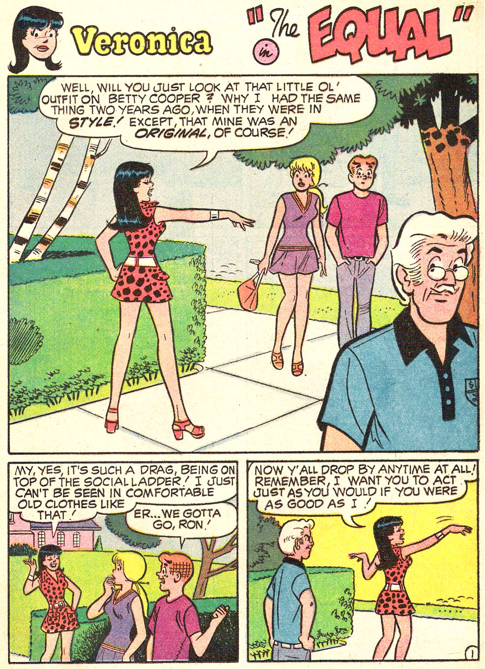 Read online Archie's Girls Betty and Veronica comic -  Issue #179 - 13