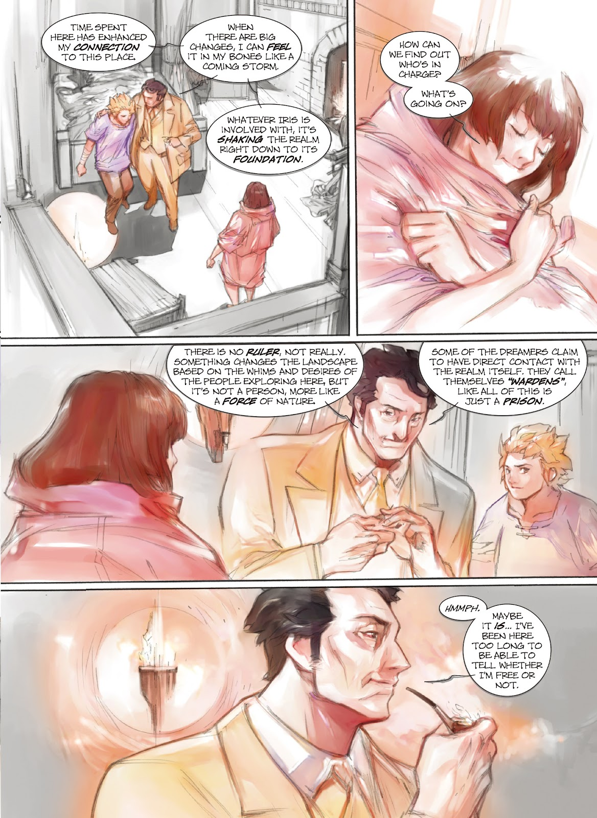 Read online Makeshift Miracle: The Girl From Nowhere comic -  Issue #9 - 10