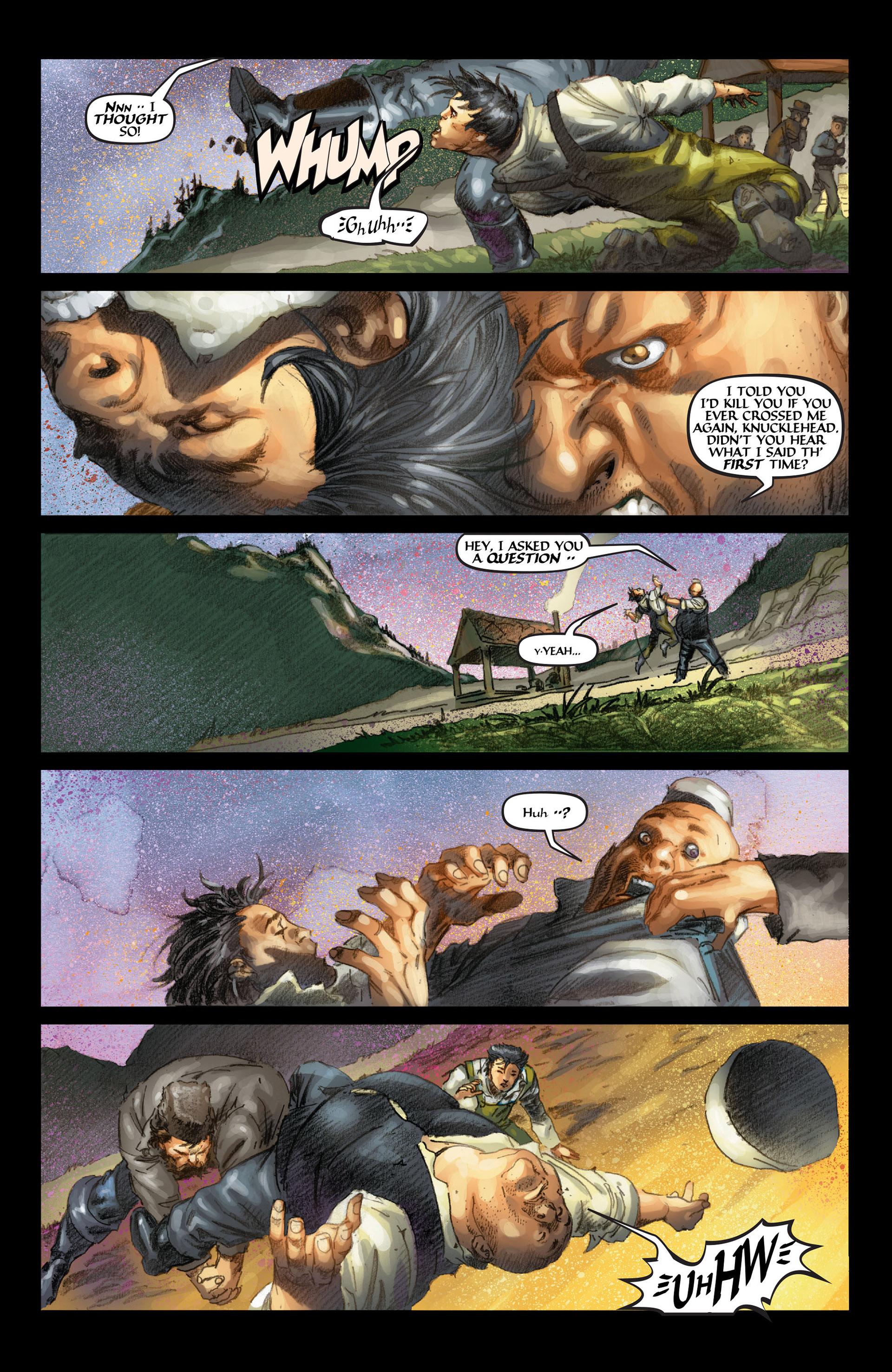 Read online Wolverine: The Origin comic -  Issue #4 - 22