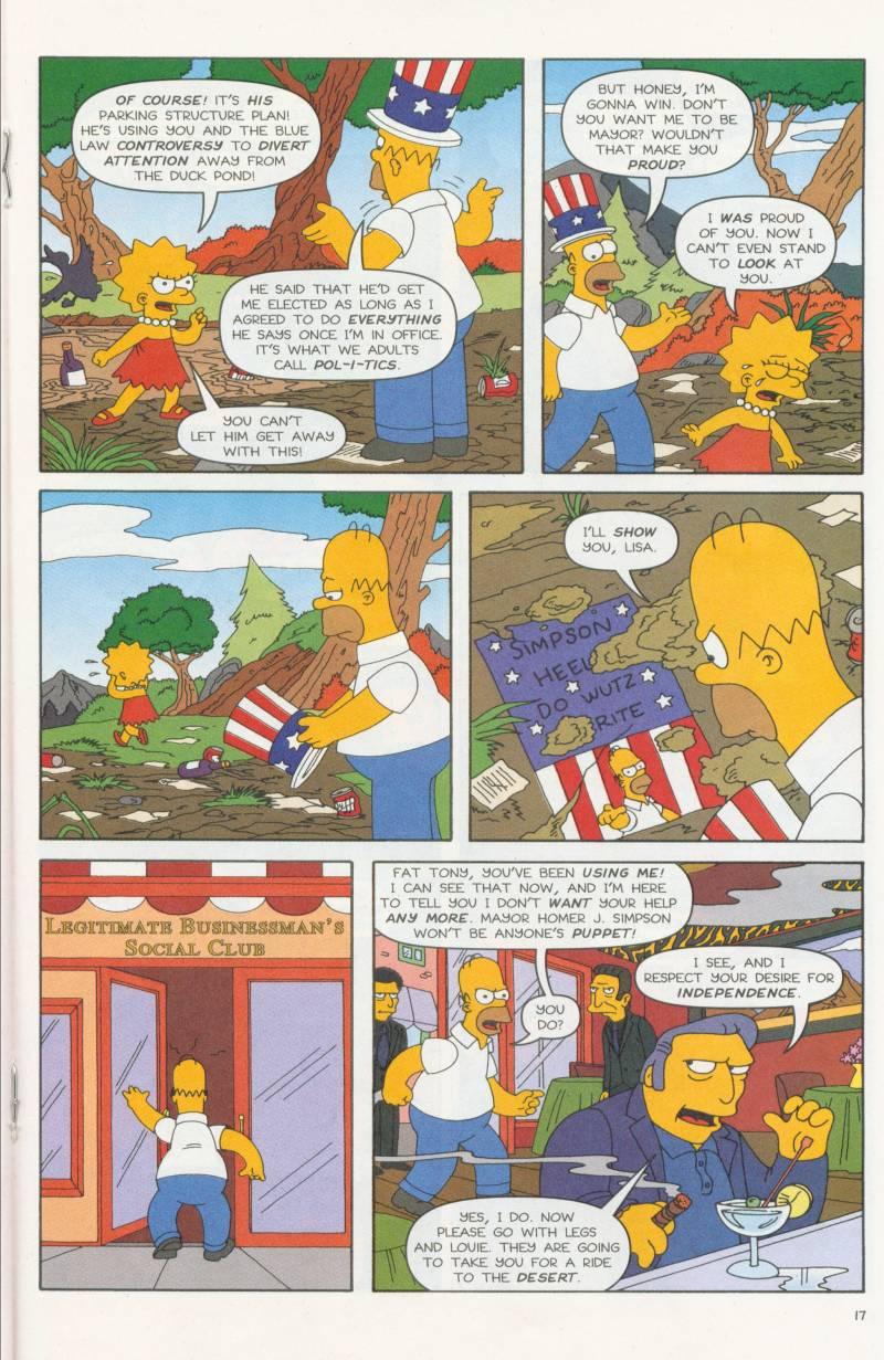 Read online Simpsons Comics comic -  Issue #58 - 18