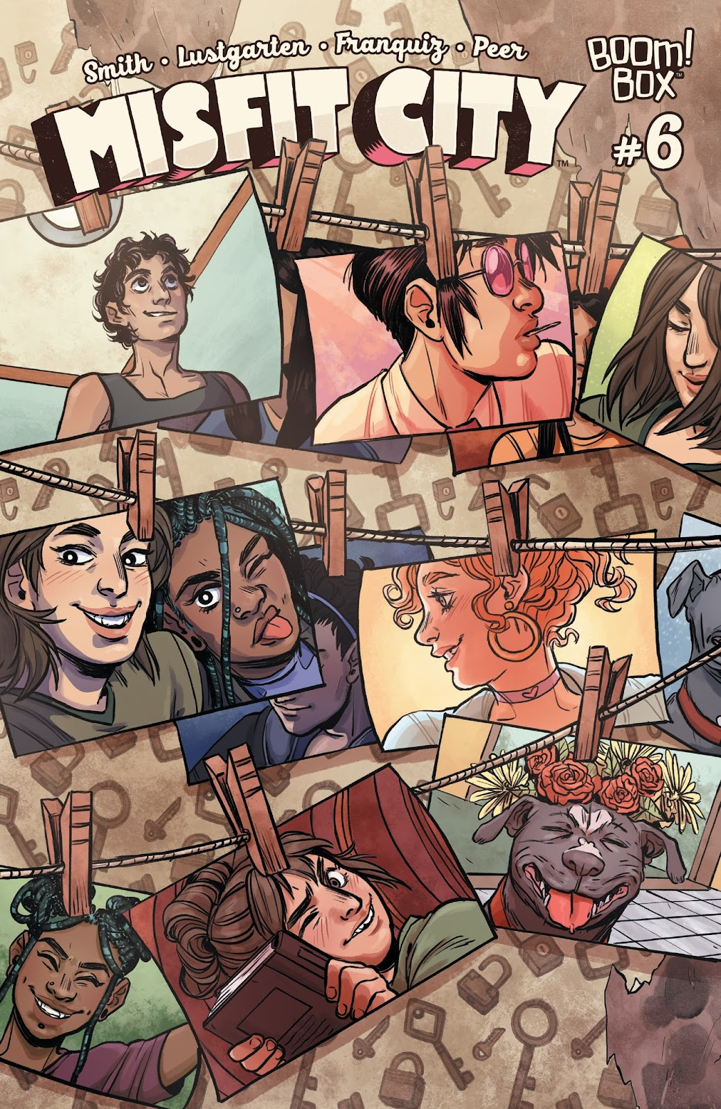 Misfit City issue 6 - Page 1