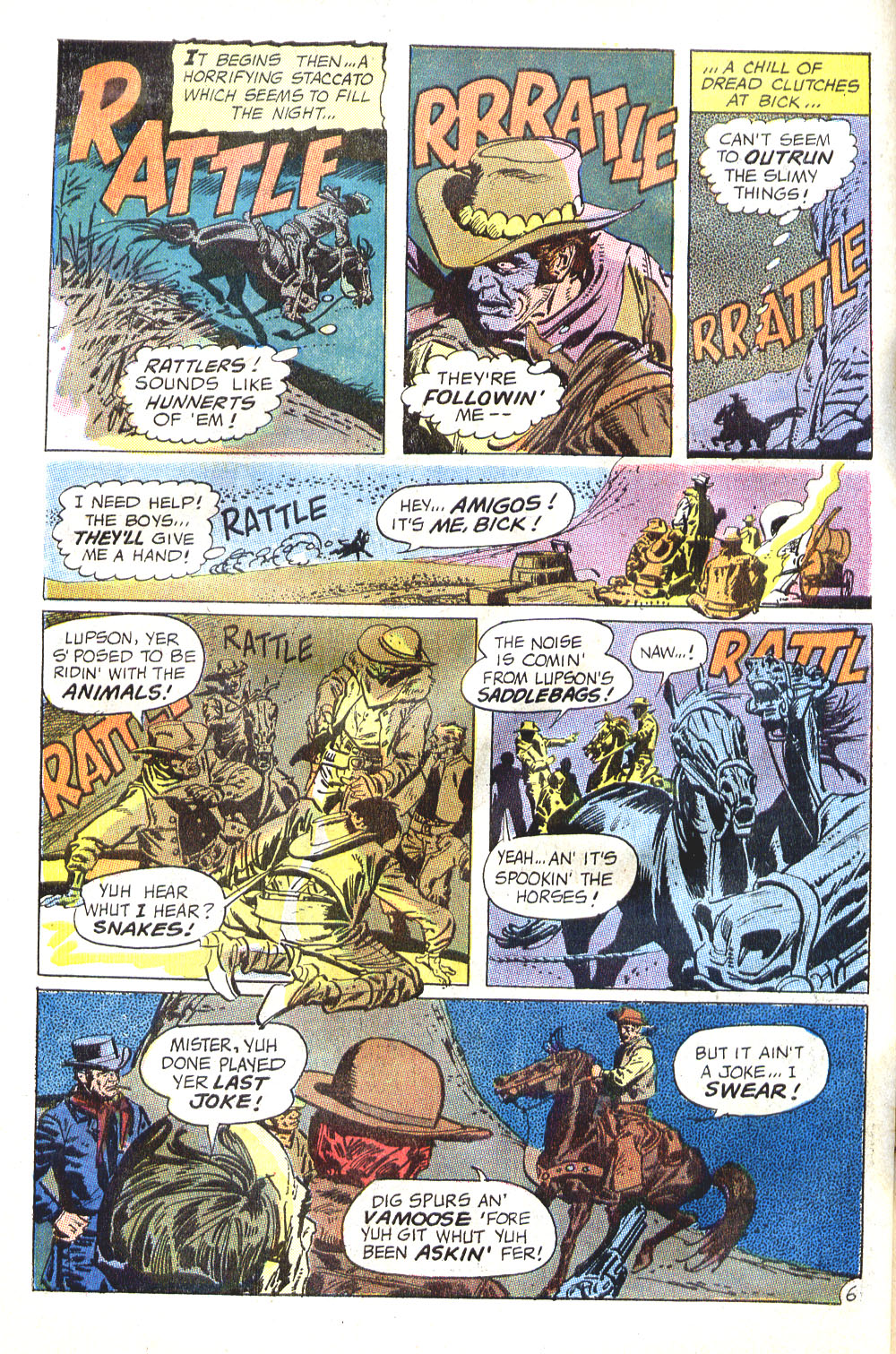 Read online All-Star Western (1970) comic -  Issue #6 - 30