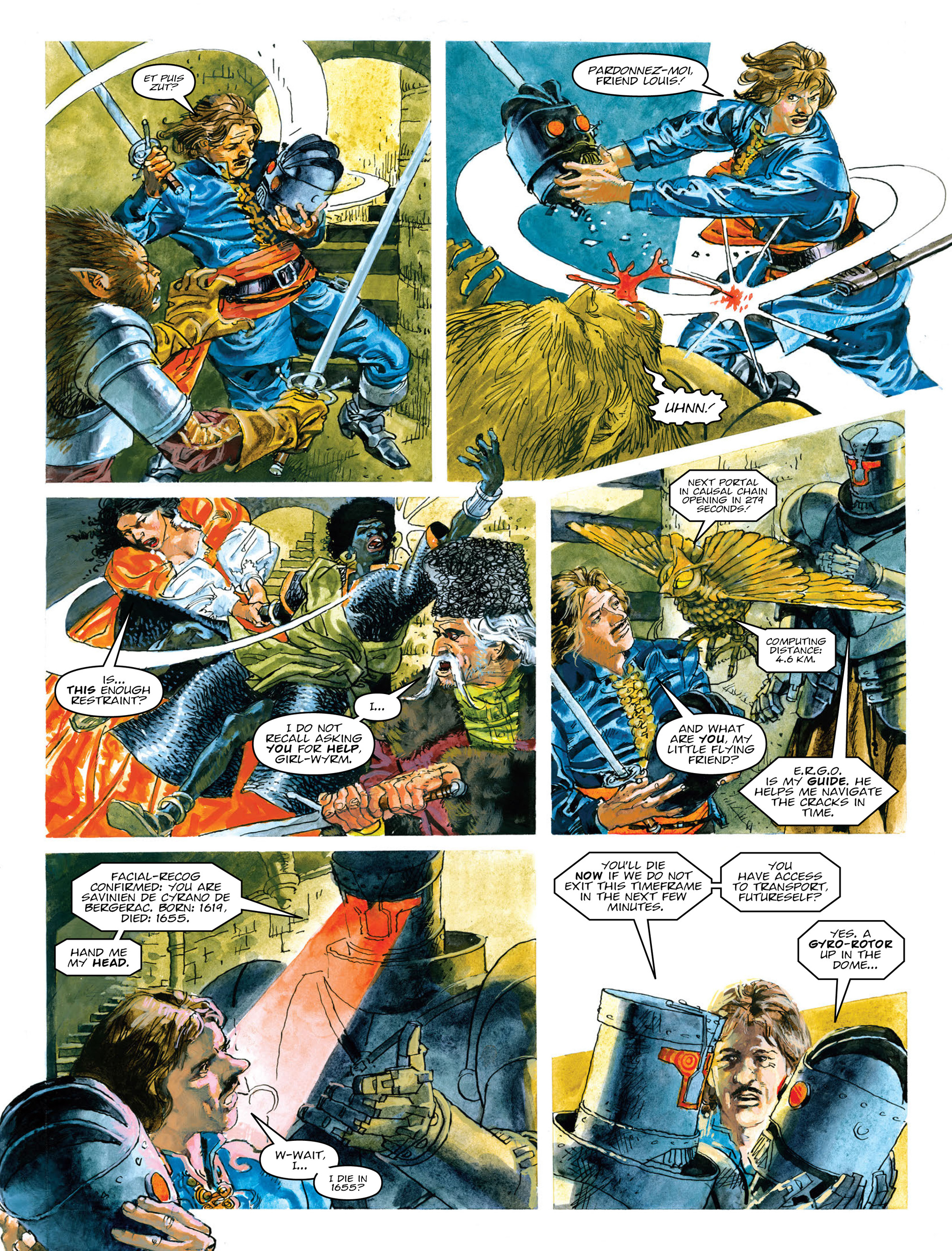 Read online 2000 AD comic -  Issue #2014 - 22