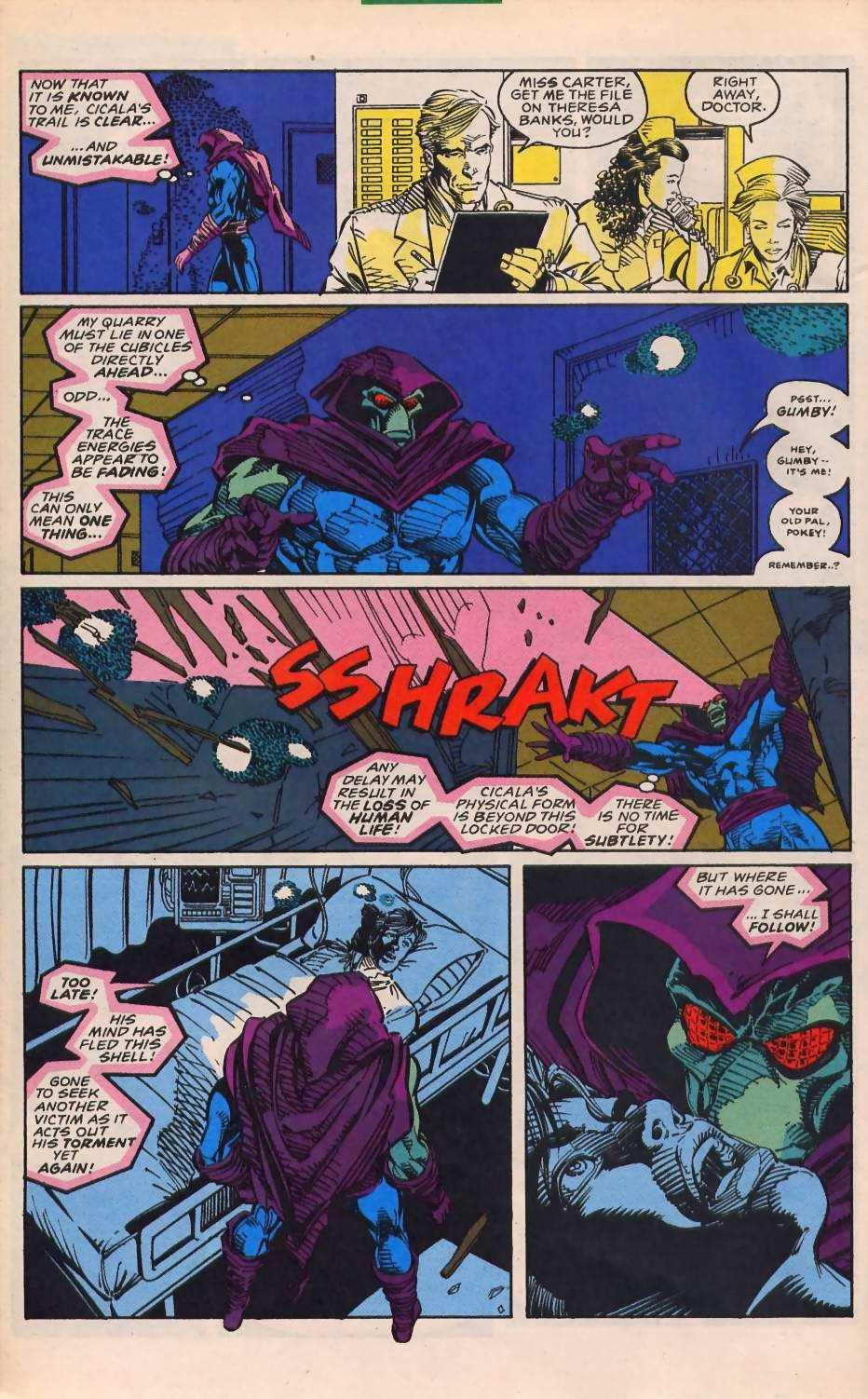 Read online Sleepwalker comic -  Issue #30 - 15