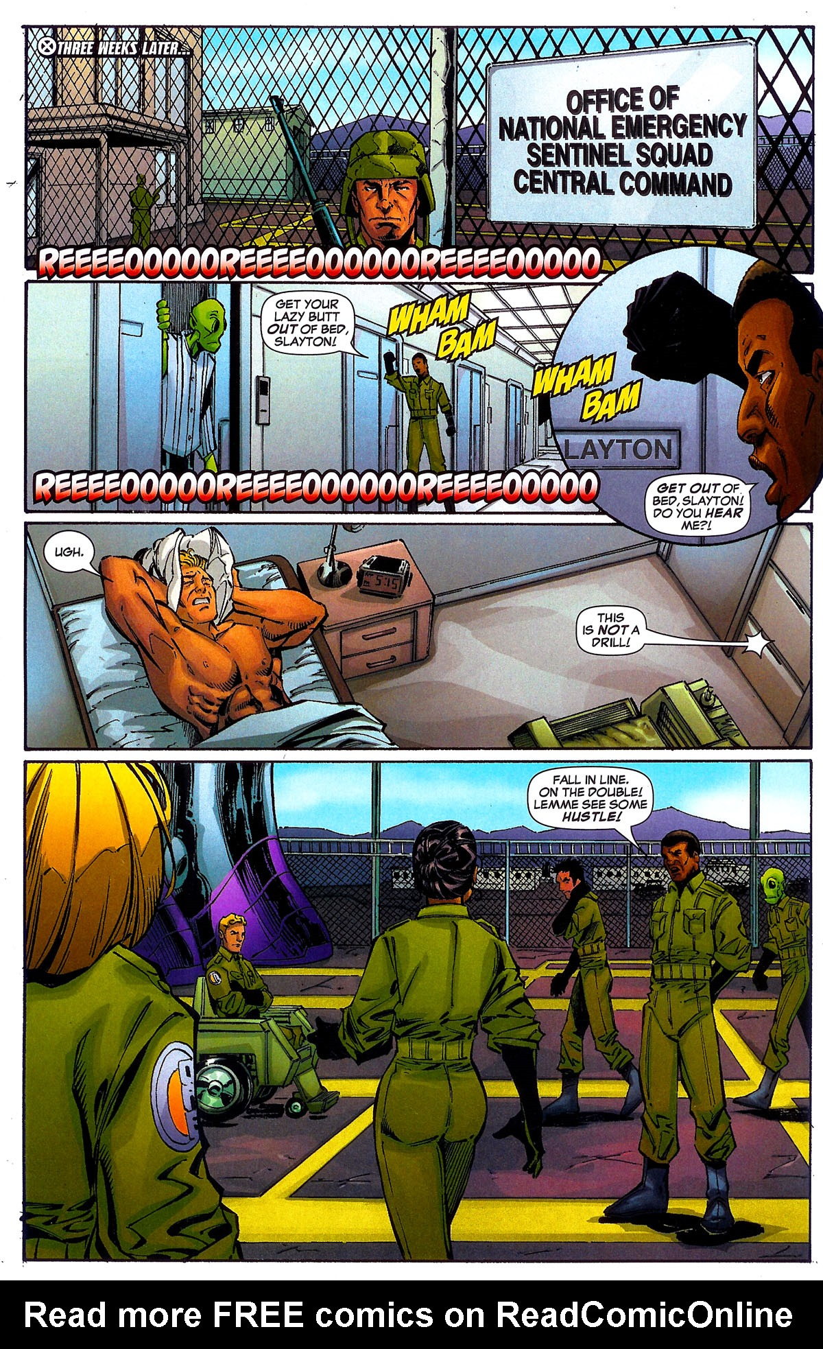 Read online Sentinel Squad O*N*E comic -  Issue #5 - 5