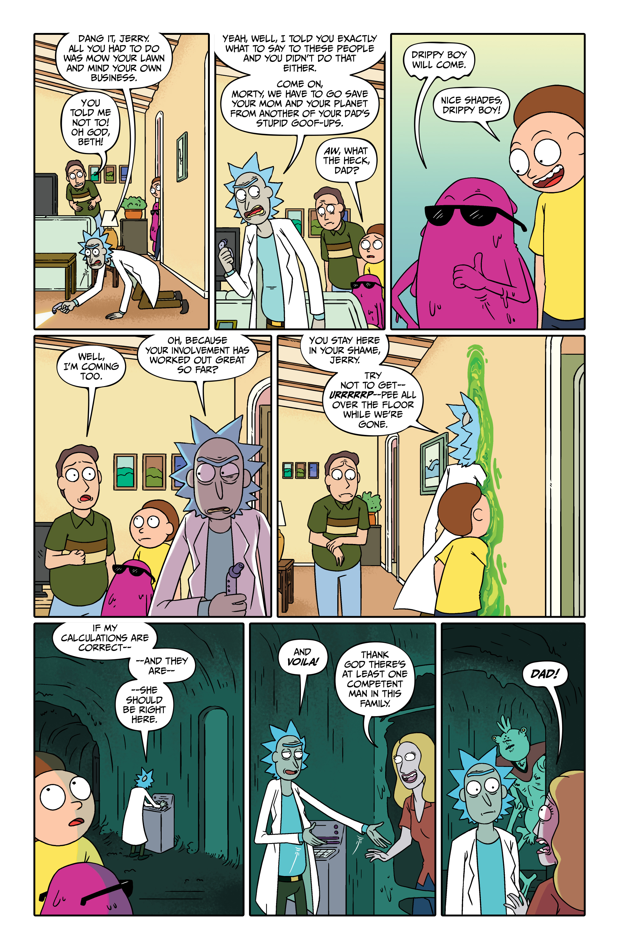 Read online Rick and Morty comic -  Issue #26 - 15
