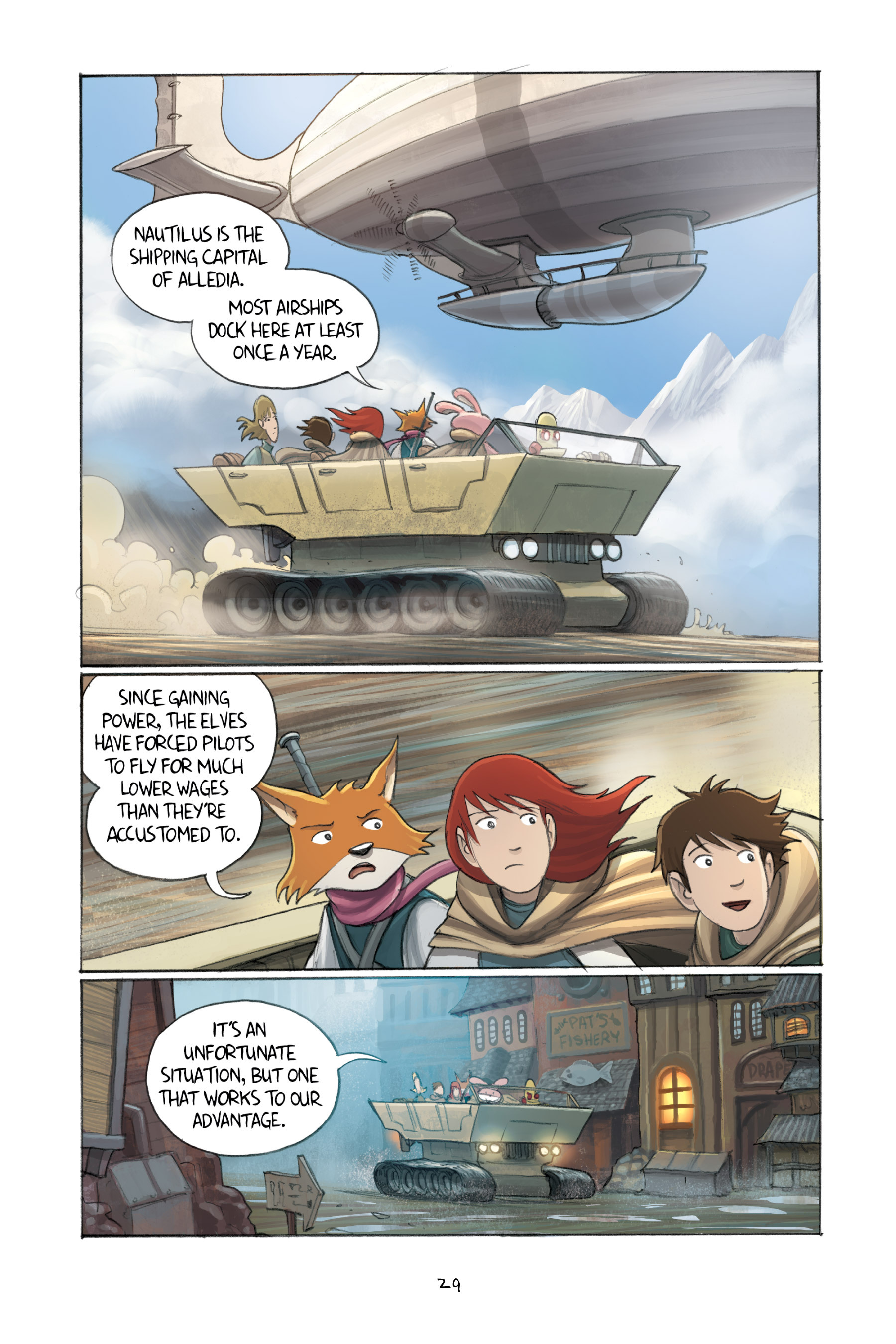 Read online Amulet comic -  Issue #3 - 29