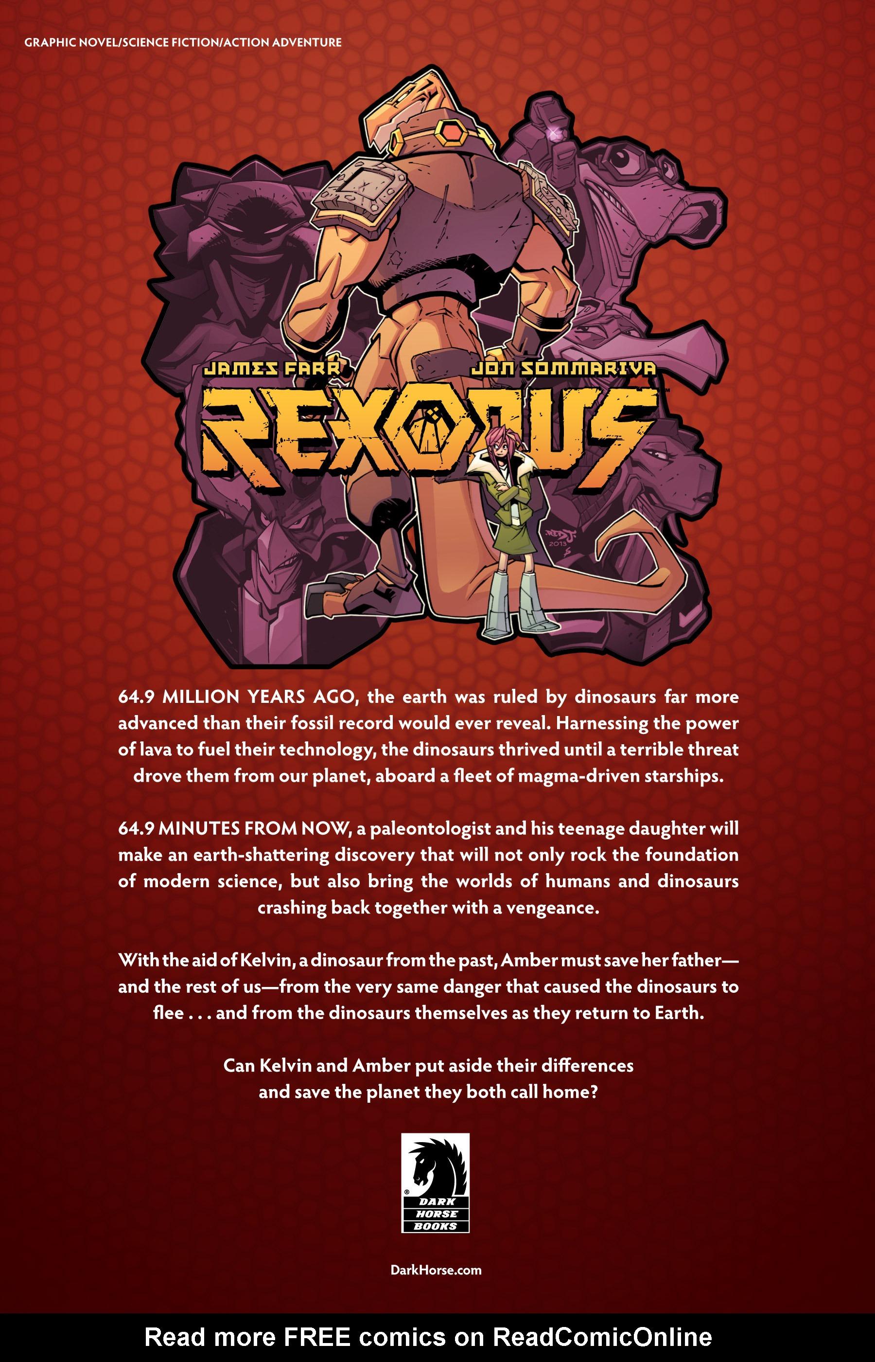 Read online Rexodus comic -  Issue # Full - 121