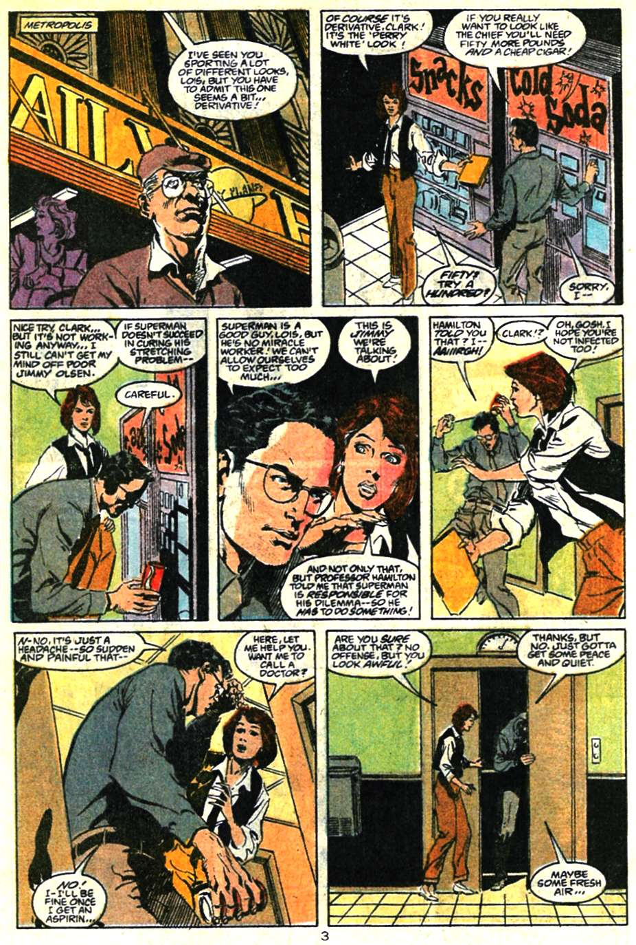 Read online Adventures of Superman (1987) comic -  Issue #460 - 4