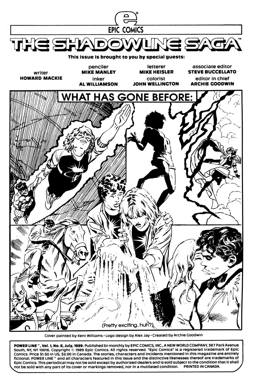 Read online Powerline comic -  Issue #8 - 2