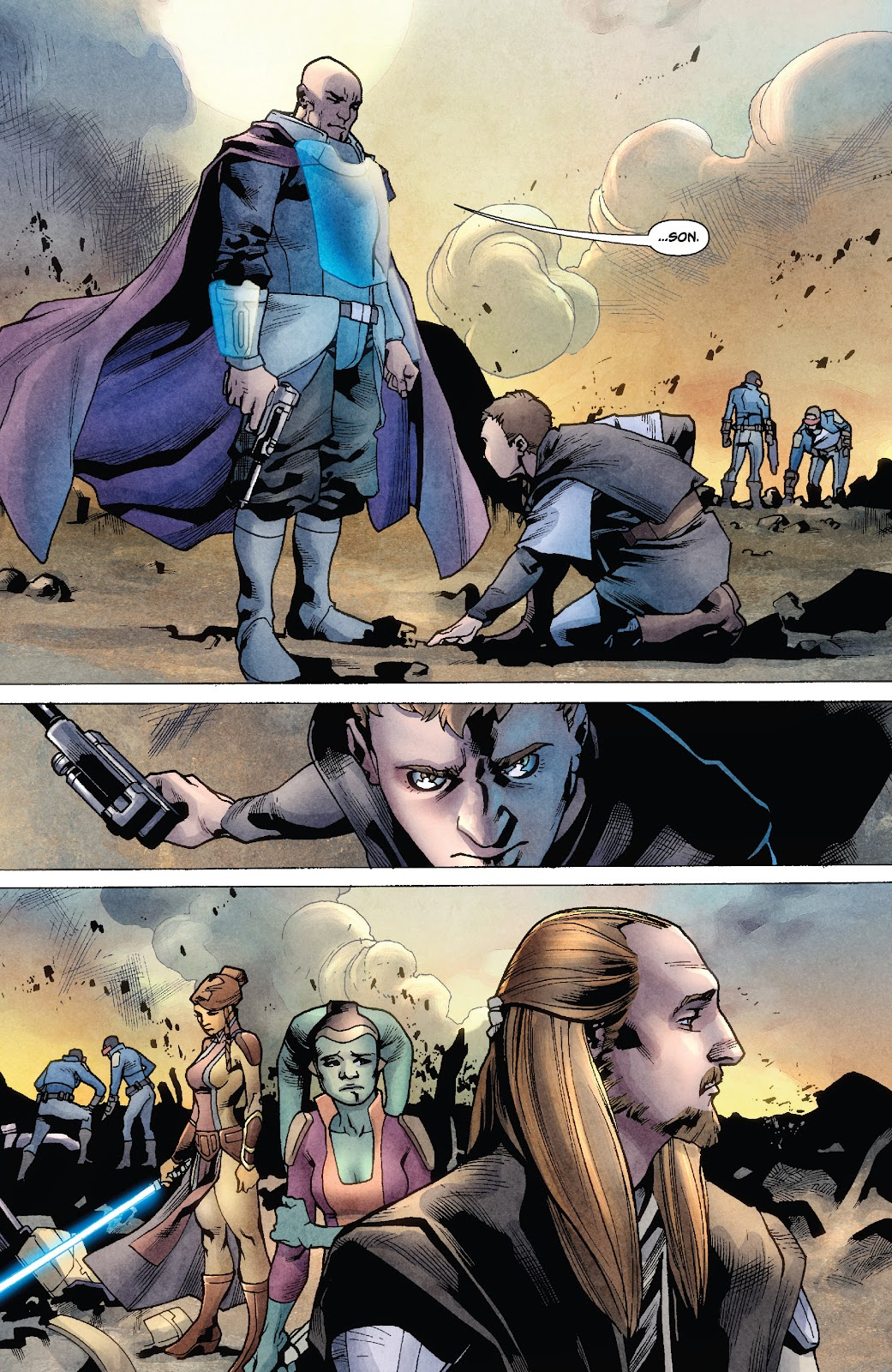 Read online Star Wars Legends: Rise of the Sith - Epic Collection comic -  Issue # TPB 1 (Part 2) - 5