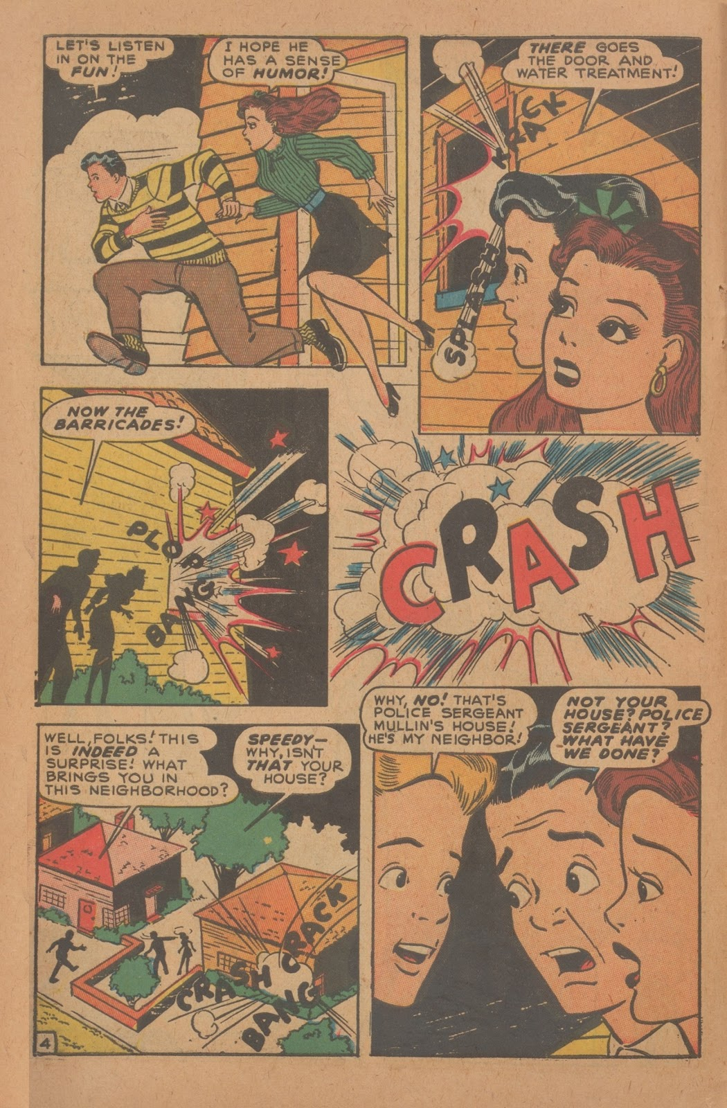 Read online Nellie The Nurse (1945) comic -  Issue #9 - 14