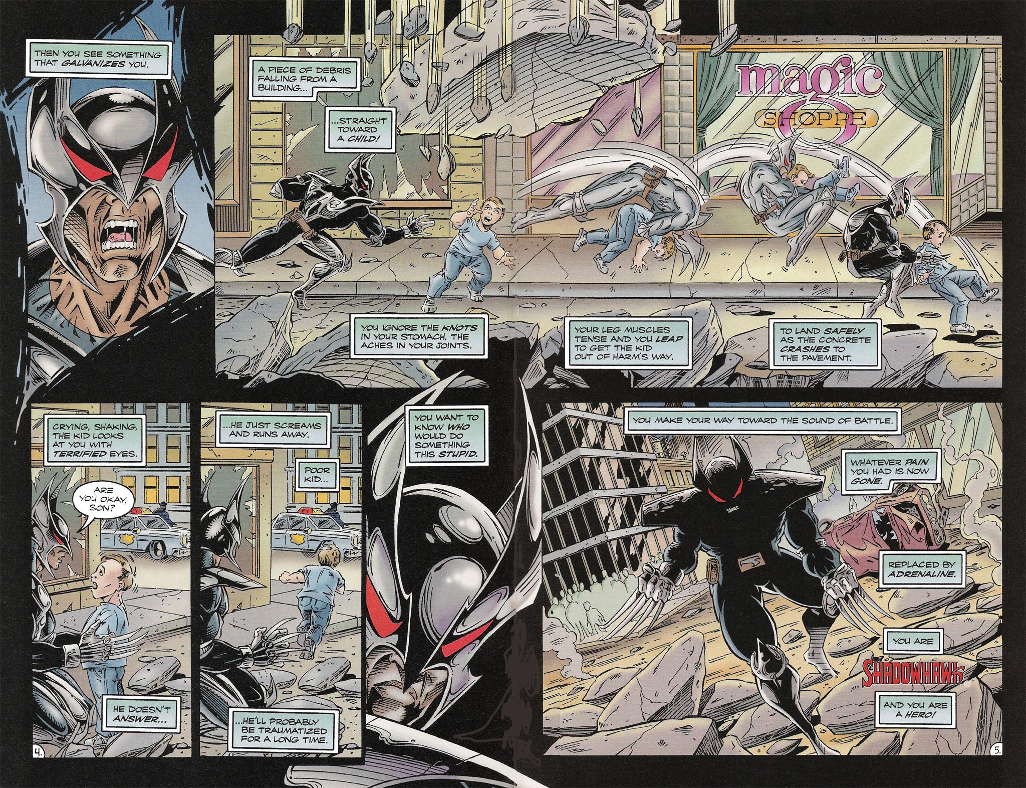 Read online ShadowHawk comic -  Issue #16 - 5