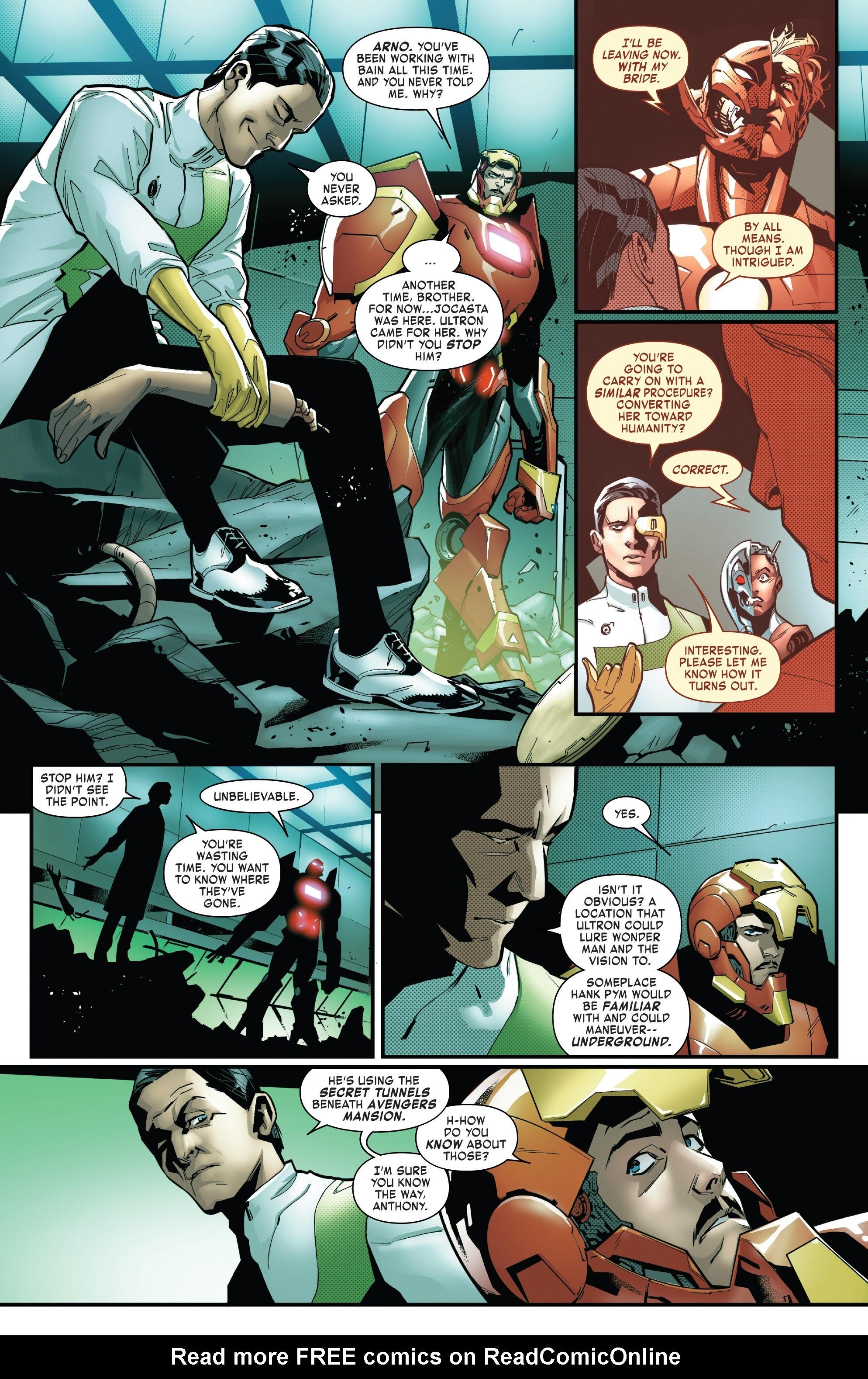 Read online Tony Stark: Iron Man comic -  Issue #16 - 12