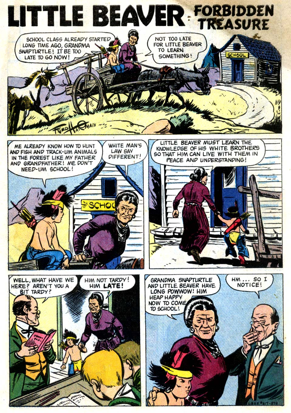 Four Color Comics issue 817 - Page 3