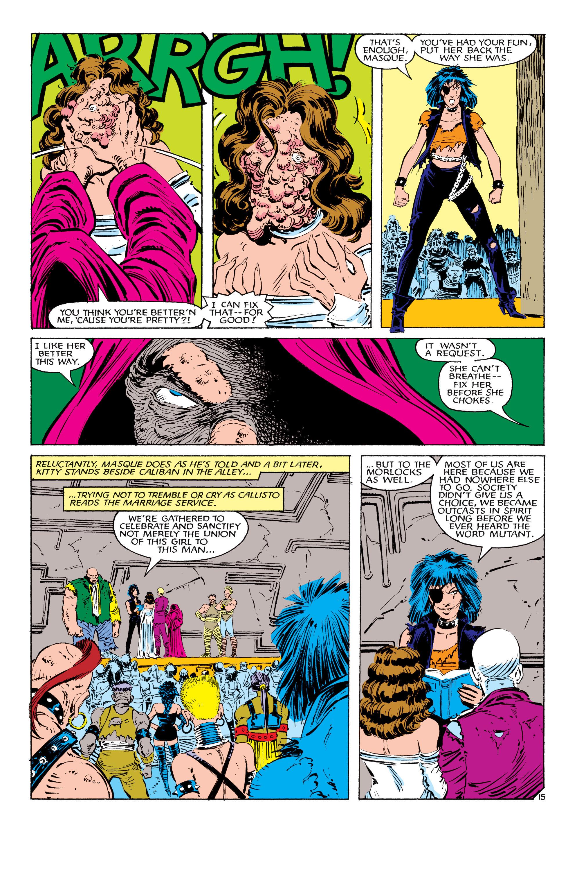Read online Uncanny X-Men (1963) comic -  Issue #179 - 16