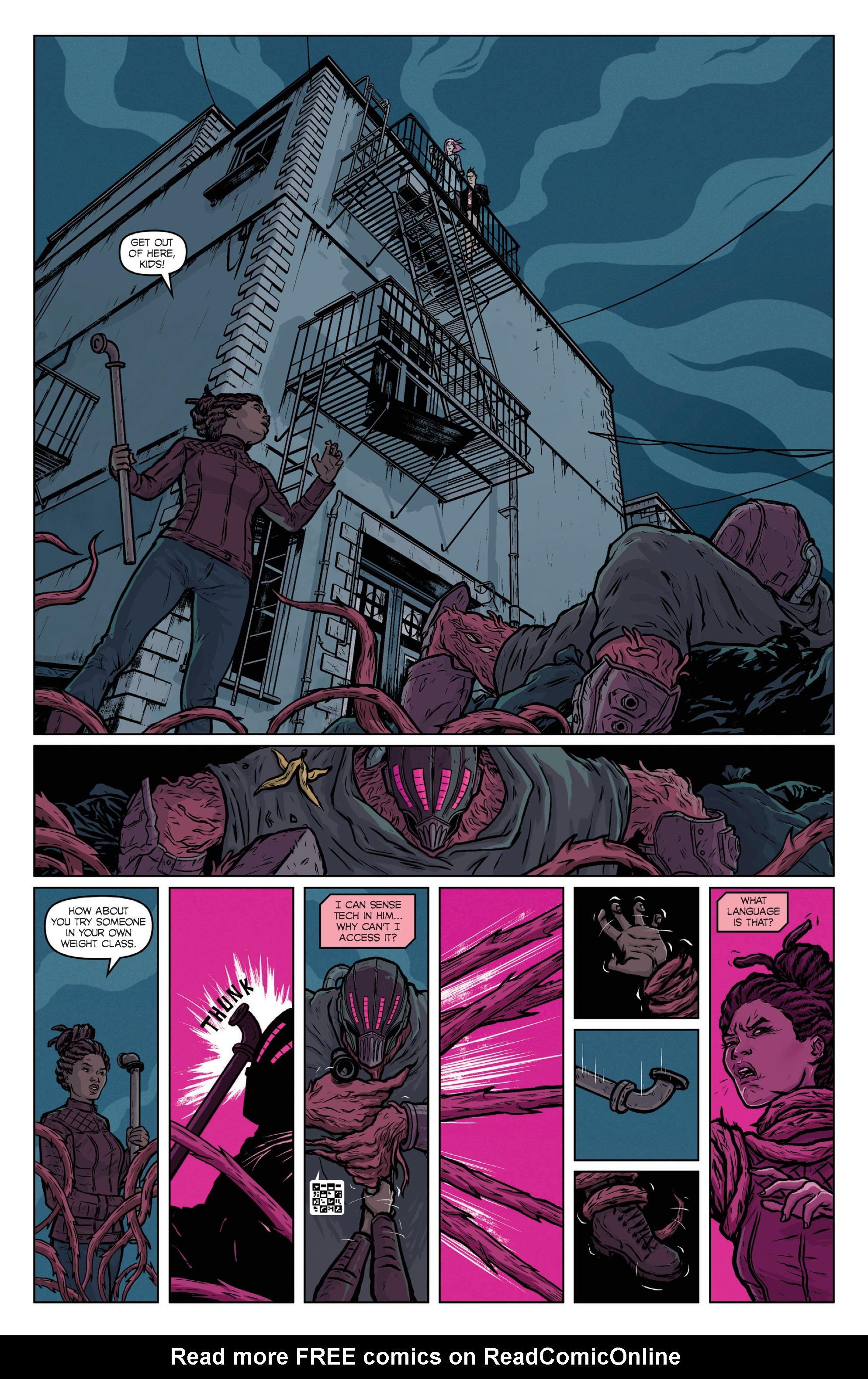 Read online Ninjak (2015) comic -  Issue #27 - 31