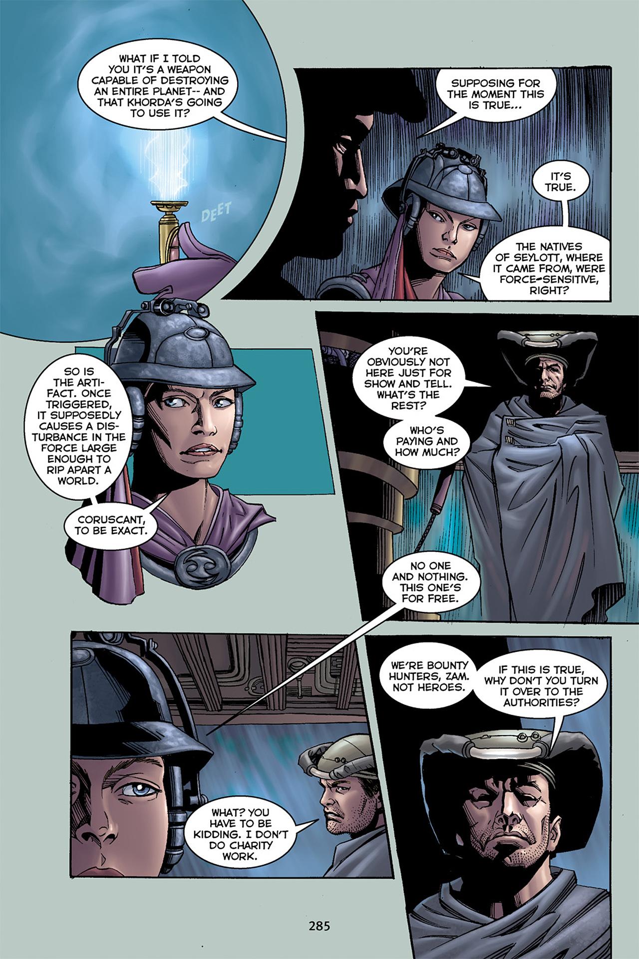 Read online Star Wars Omnibus comic -  Issue # Vol. 10 - 281