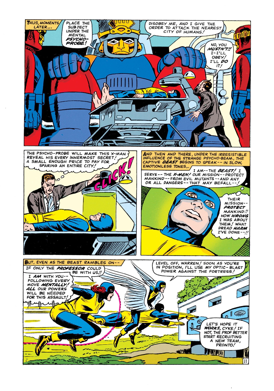 Read online Uncanny X-Men (1963) comic -  Issue #15 - 12