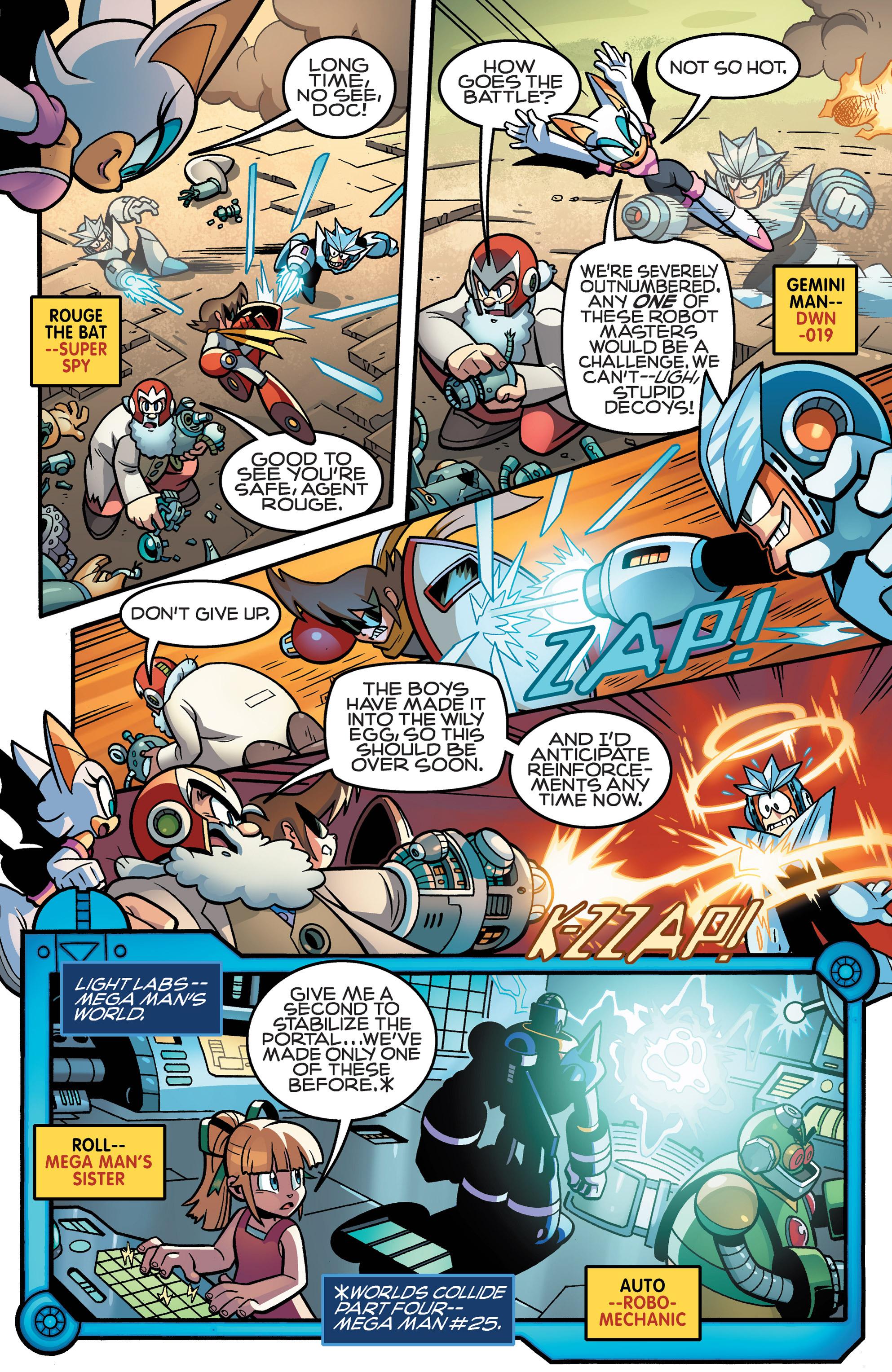 Read online Sonic Mega Man Worlds Collide comic -  Issue # Vol 3 - 54