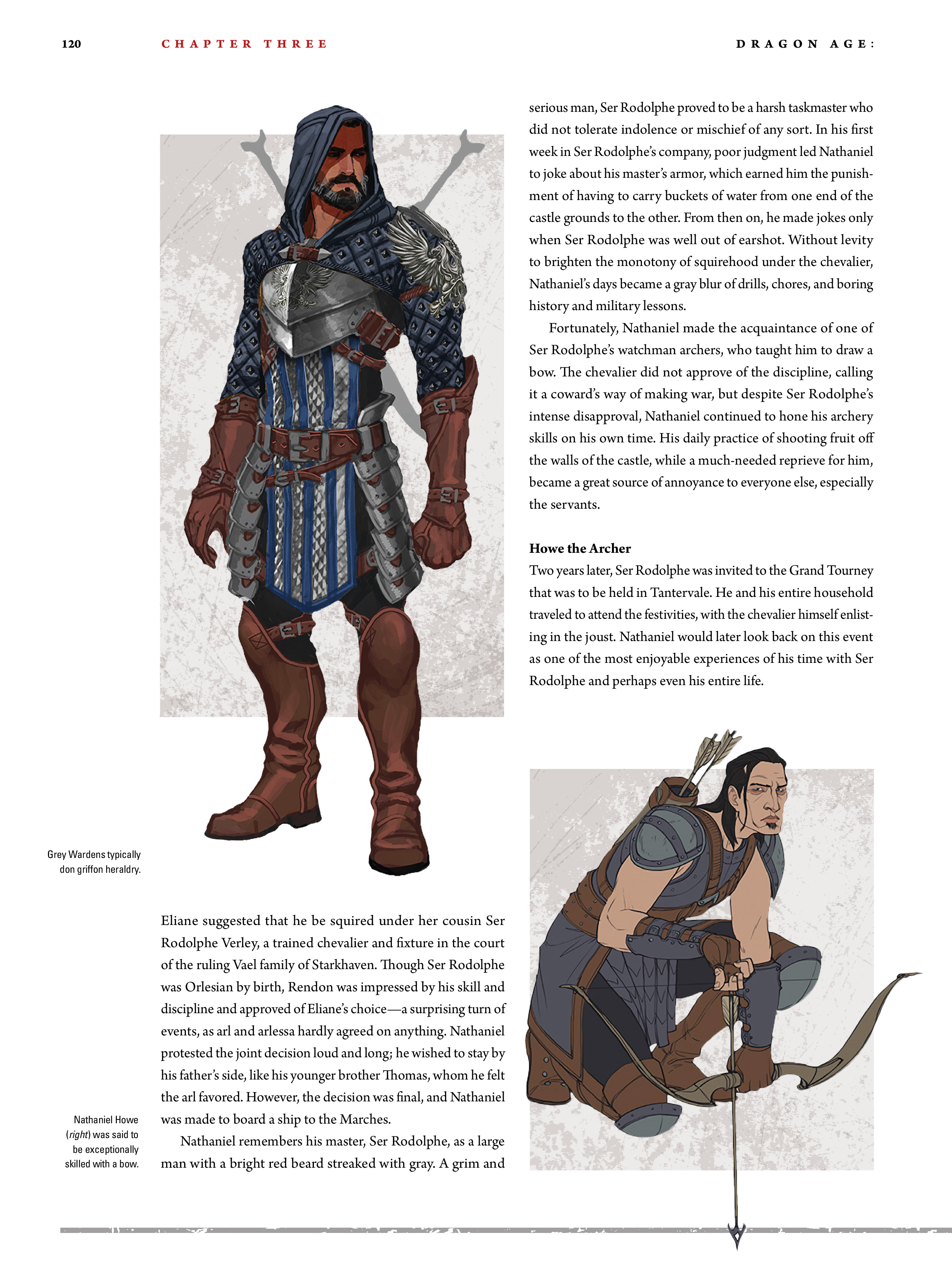 Read online Dragon Age: The World of Thedas comic -  Issue # TPB 2 - 116