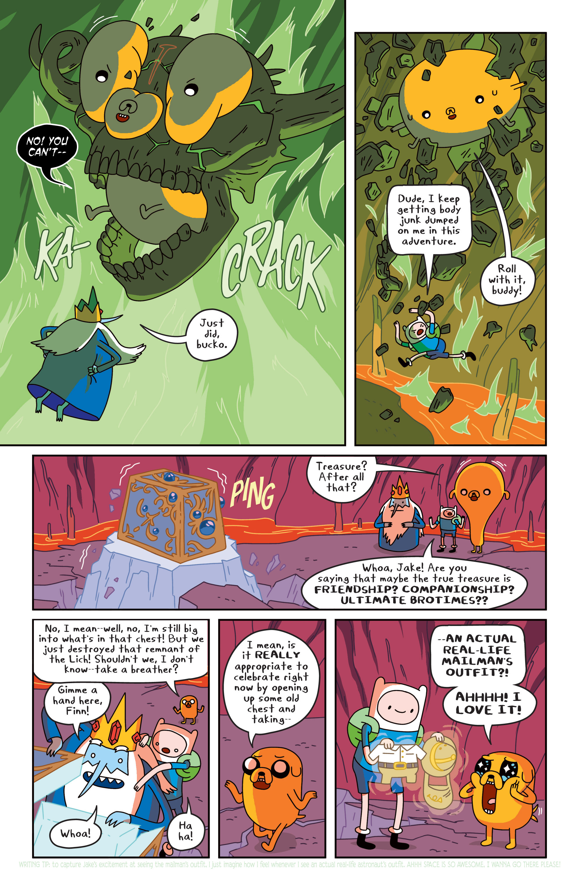 Read online Adventure Time comic -  Issue #19 - 20