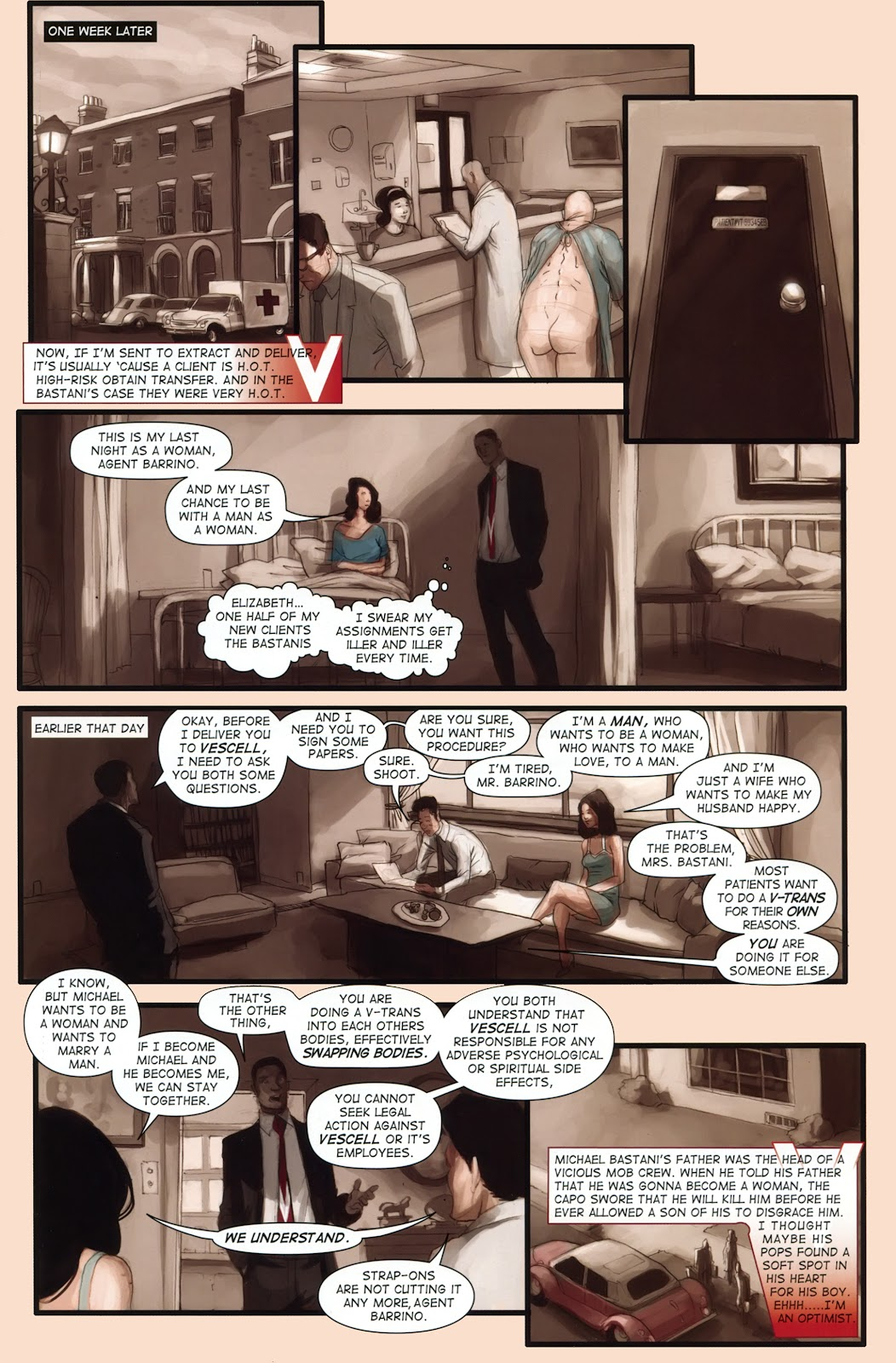 Read online Vescell comic -  Issue #1 - 9