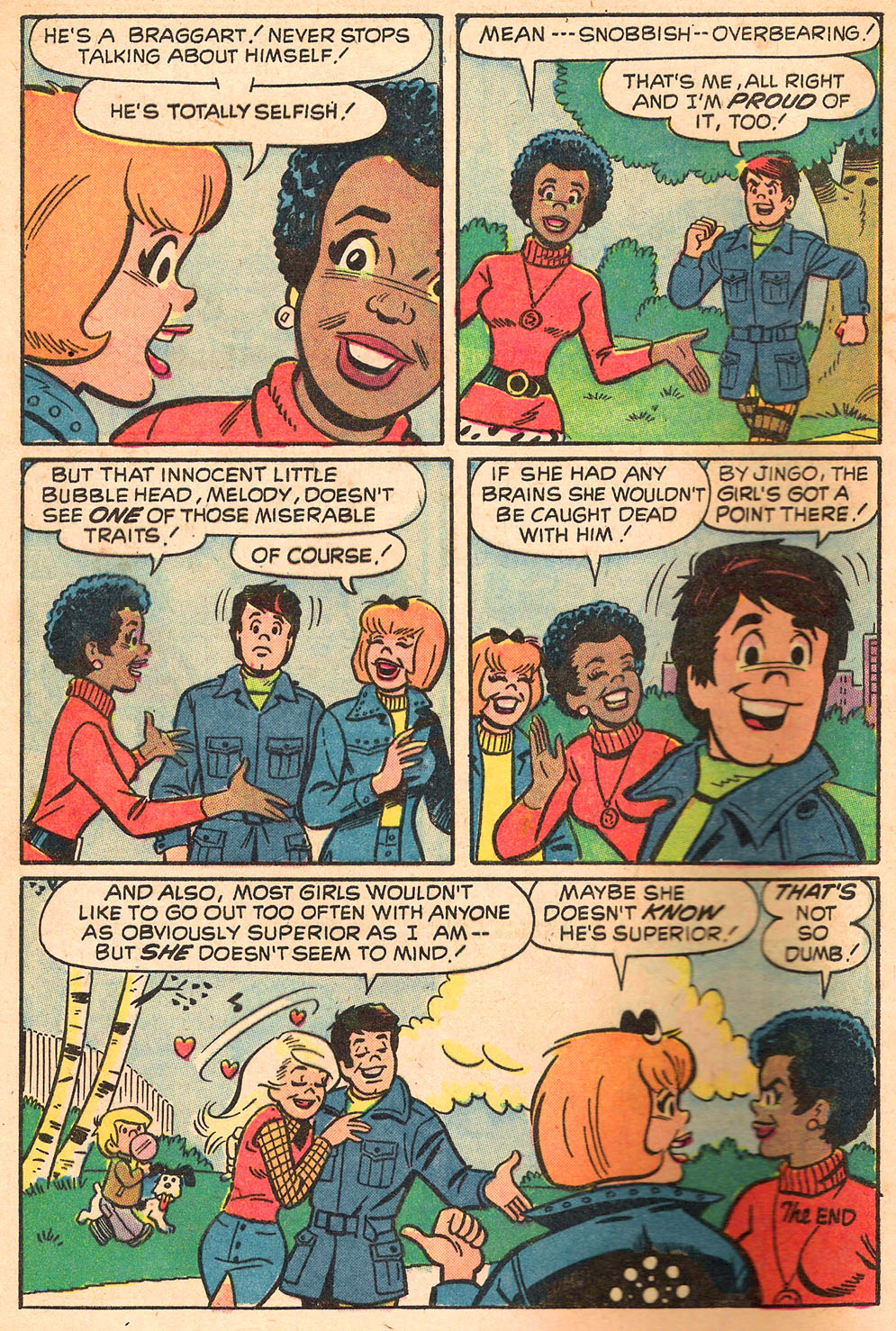 Read online She's Josie comic -  Issue #69 - 8
