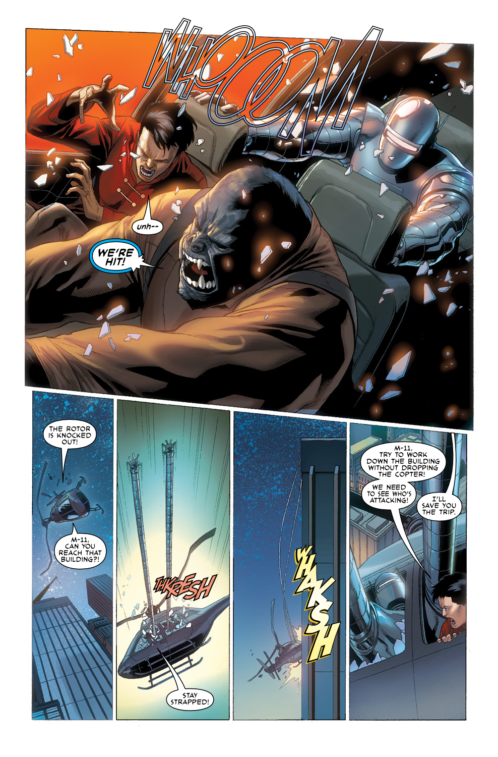 Read online Agents Of Atlas (2009) comic -  Issue #3 - 23