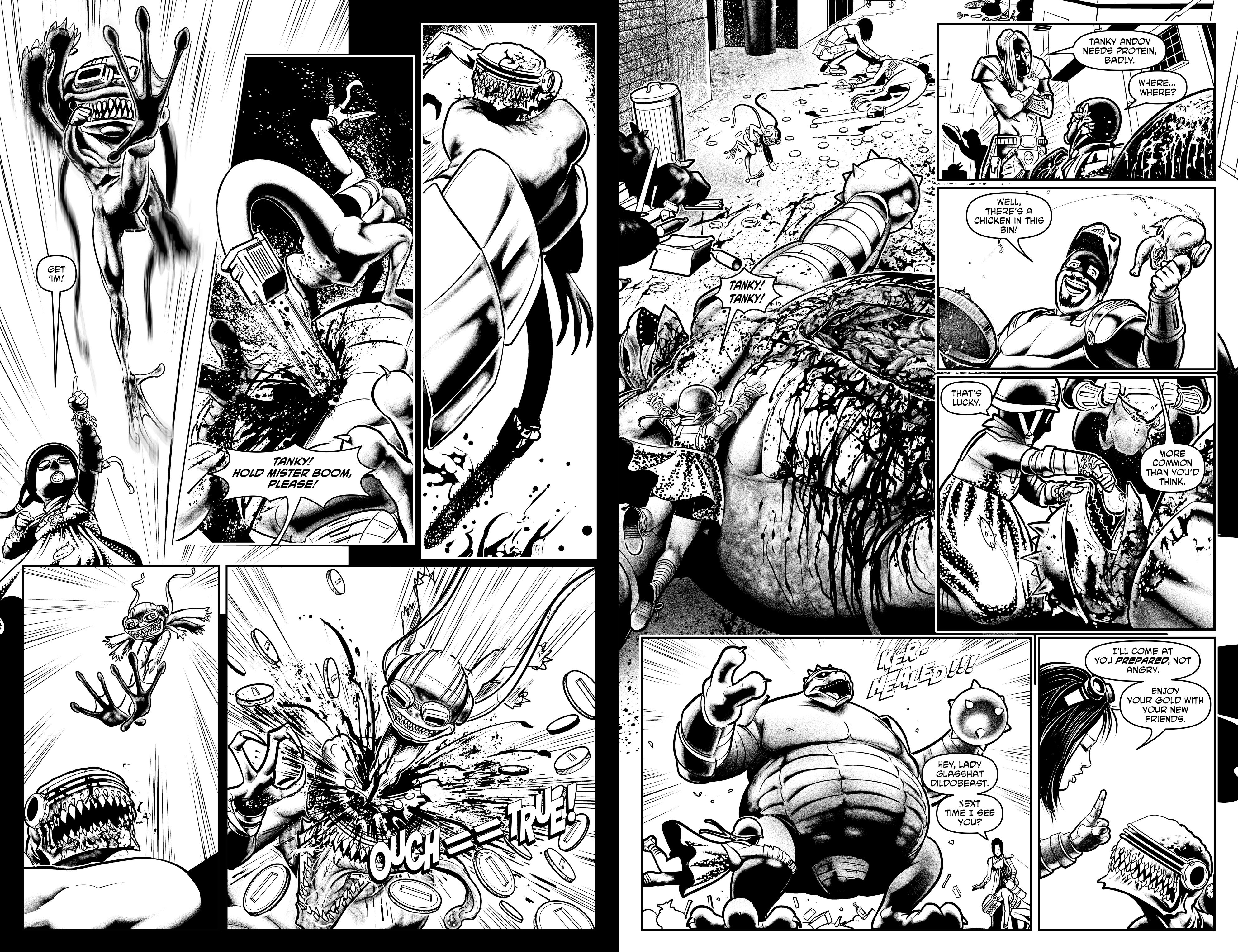 Read online Alan Moore's Cinema Purgatorio comic -  Issue #10 - 25