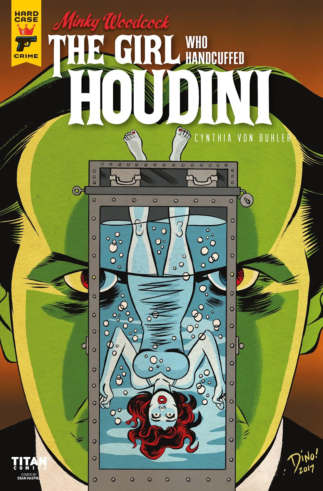 Minky Woodcock: The Girl who Handcuffed Houdini issue 4 - Page 1