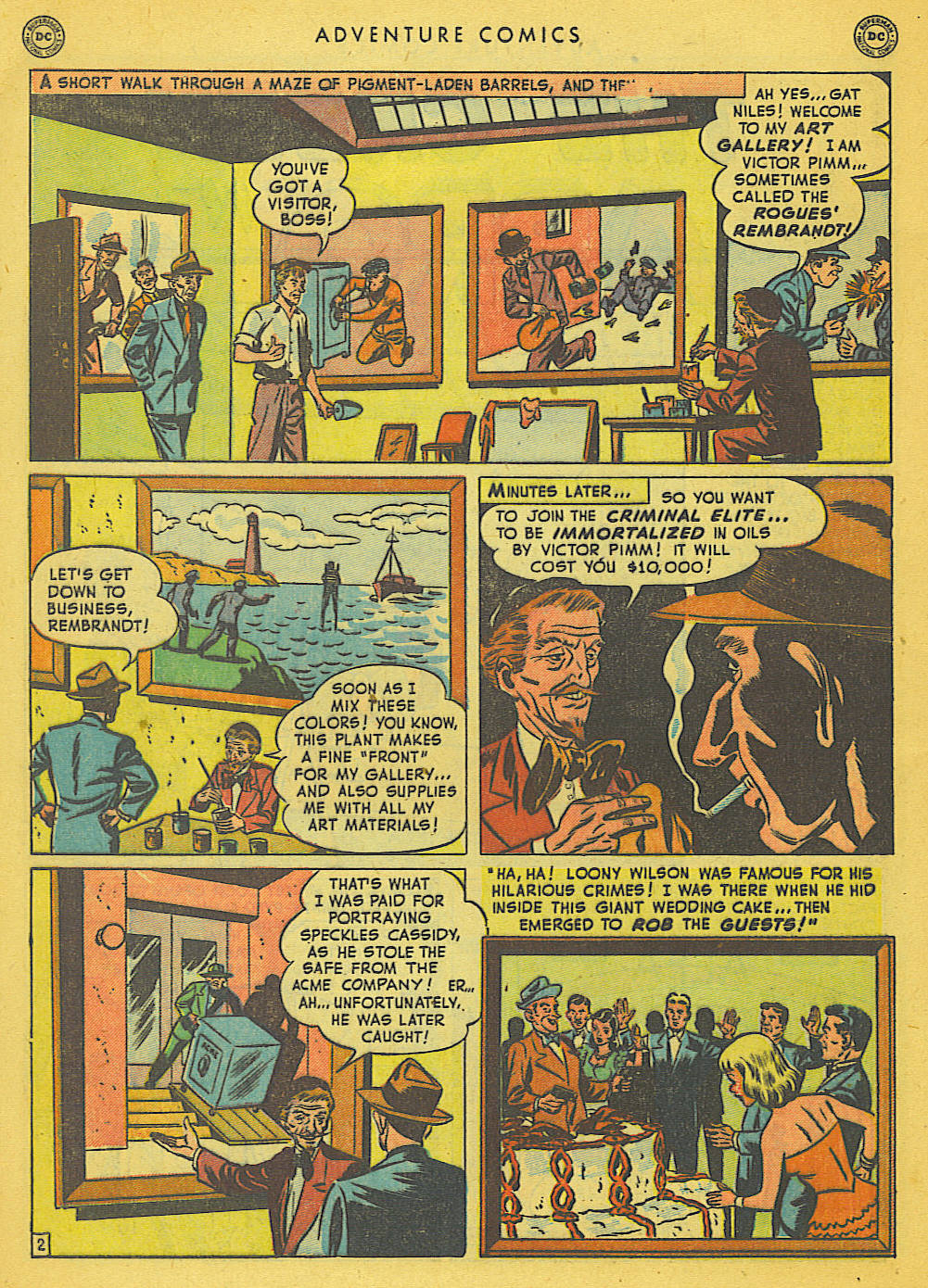 Read online Adventure Comics (1938) comic -  Issue #153 - 41