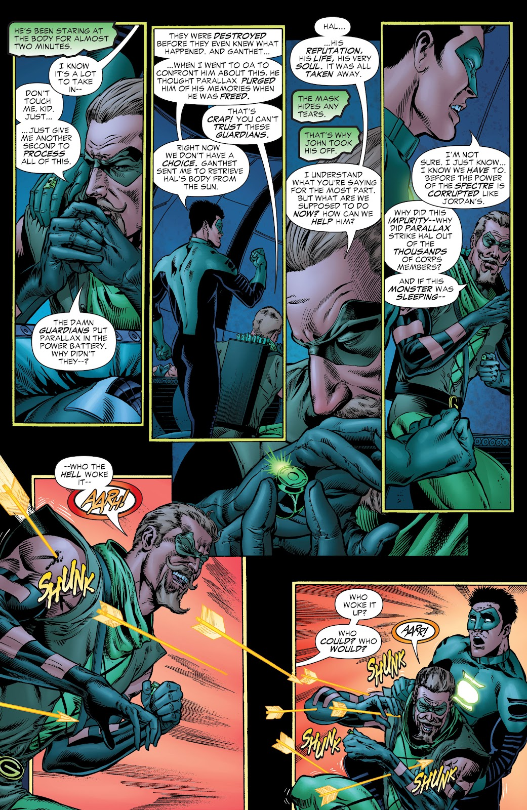 Read online Green Lantern by Geoff Johns comic -  Issue # TPB 1 (Part 1) - 87