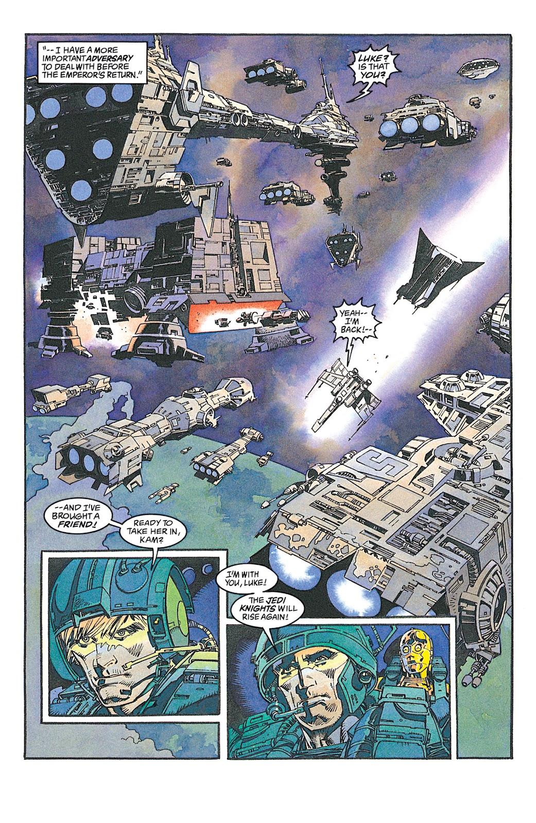 Read online Star Wars: Dark Empire Trilogy comic -  Issue # TPB (Part 2) - 67