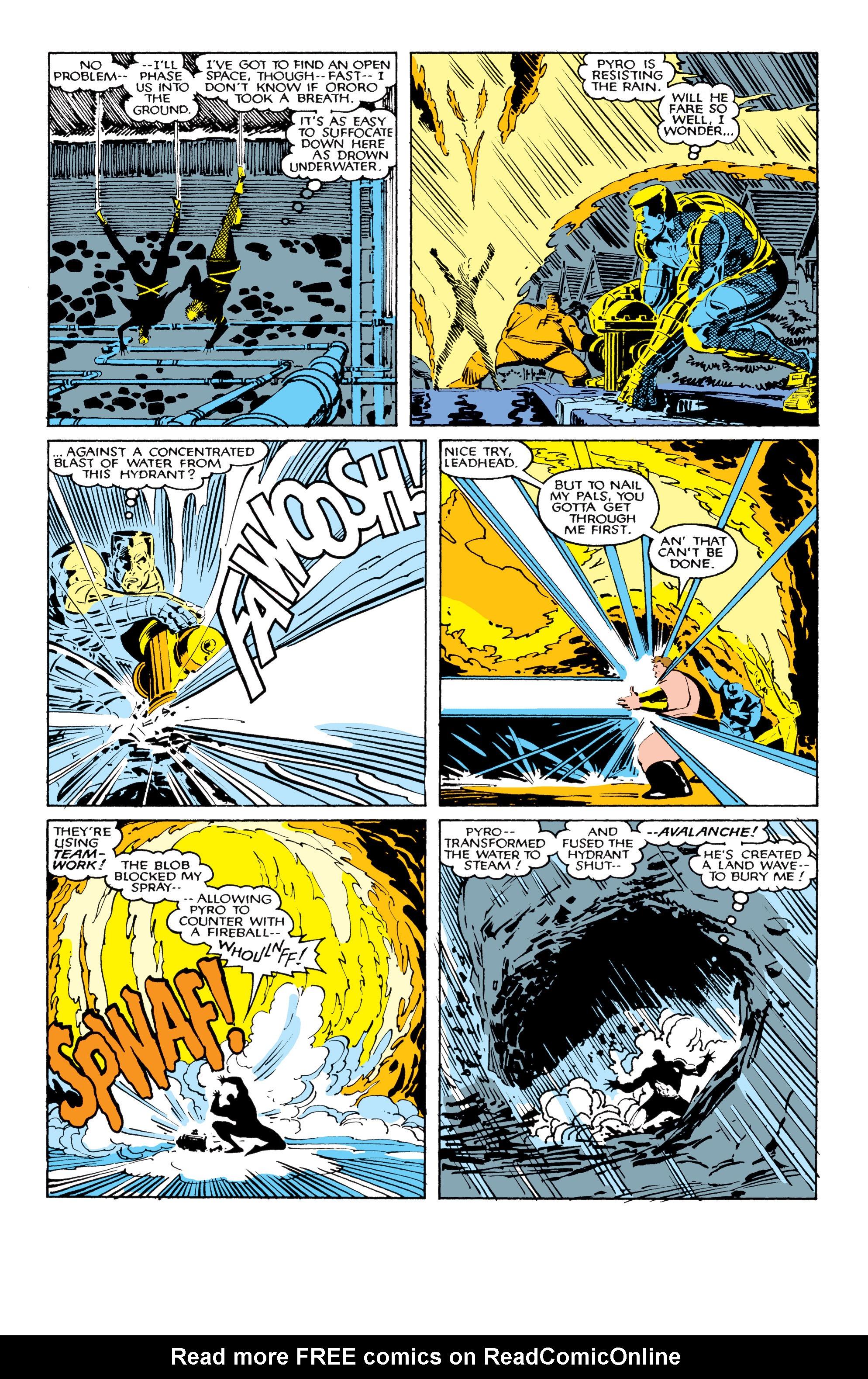 Read online Uncanny X-Men (1963) comic -  Issue #206 - 16