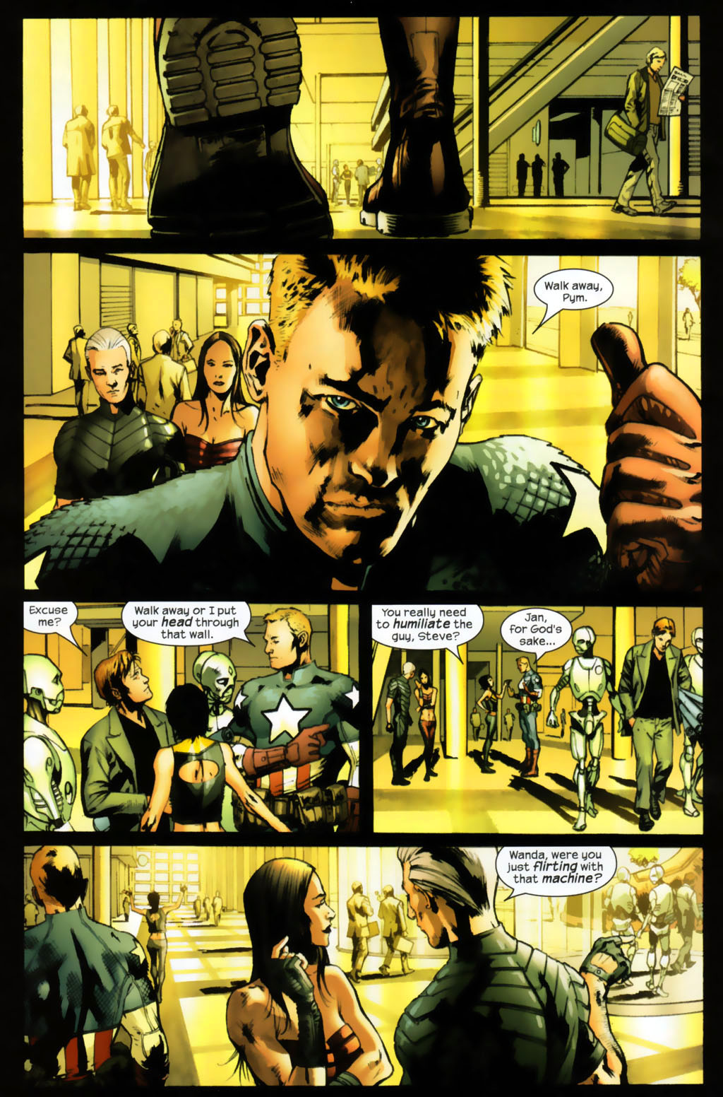 Read online Ultimates 2 comic -  Issue #6 - 11