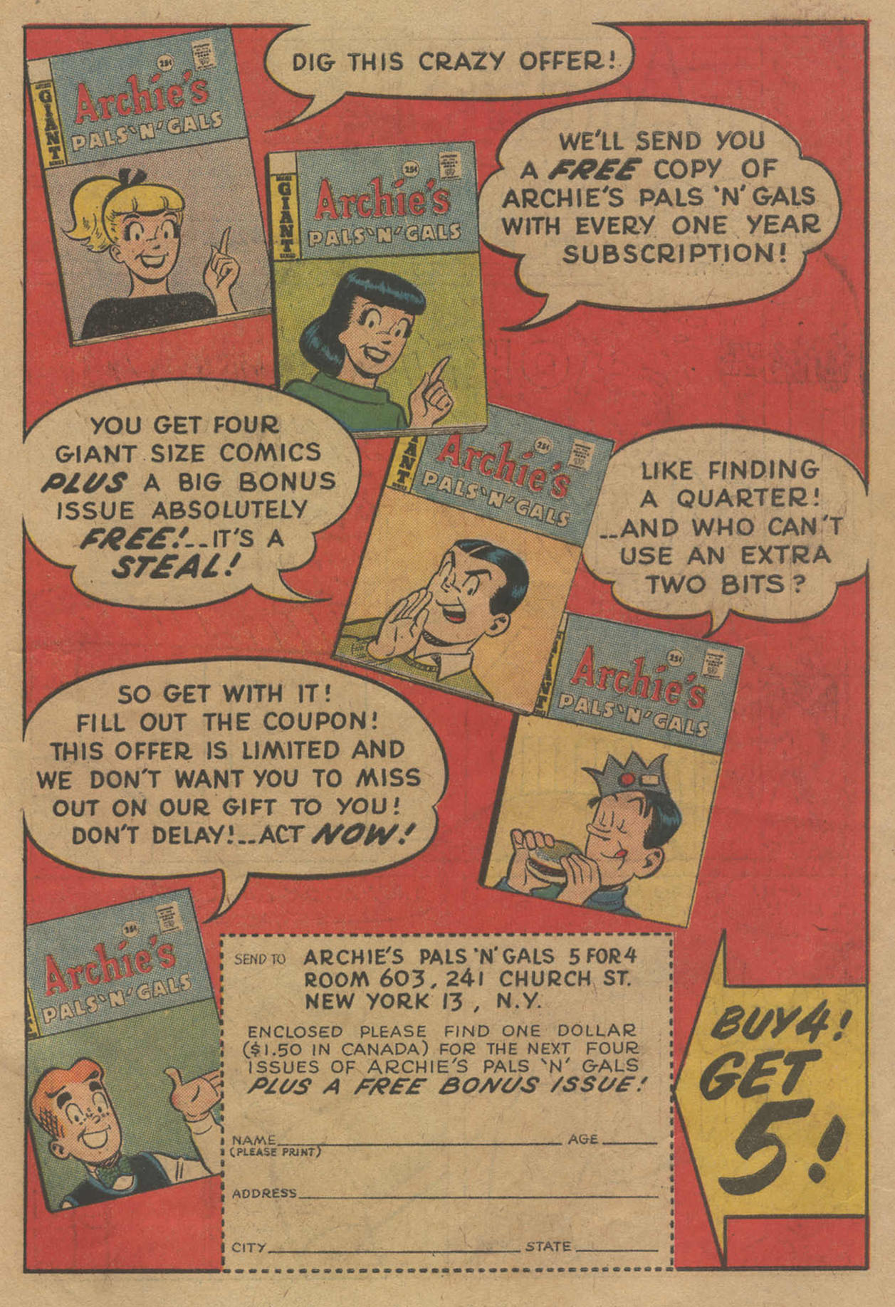 Read online Archie (1960) comic -  Issue #141 - 19
