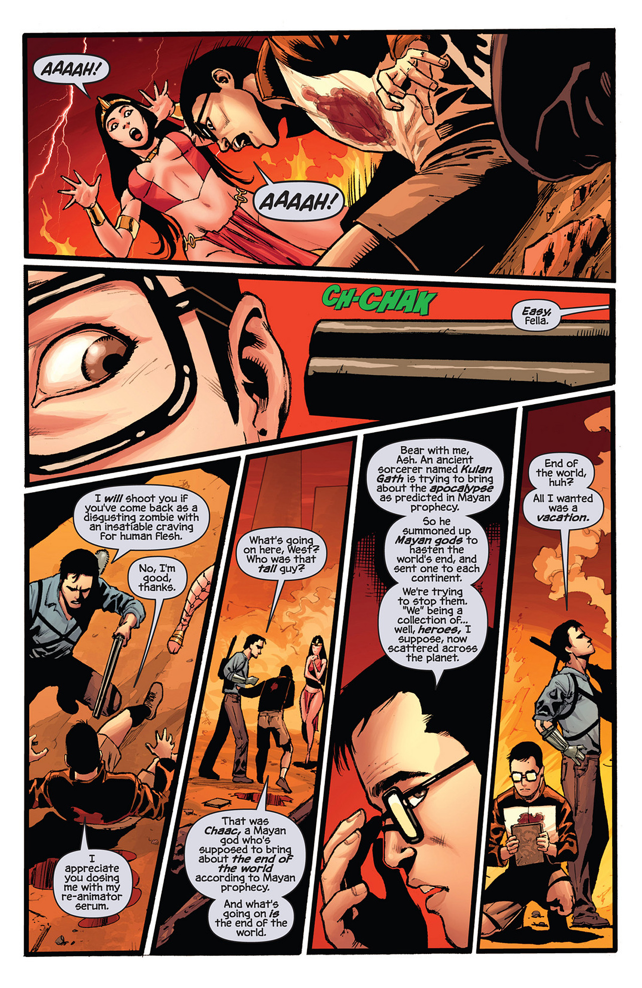 Read online Prophecy comic -  Issue #4 - 10