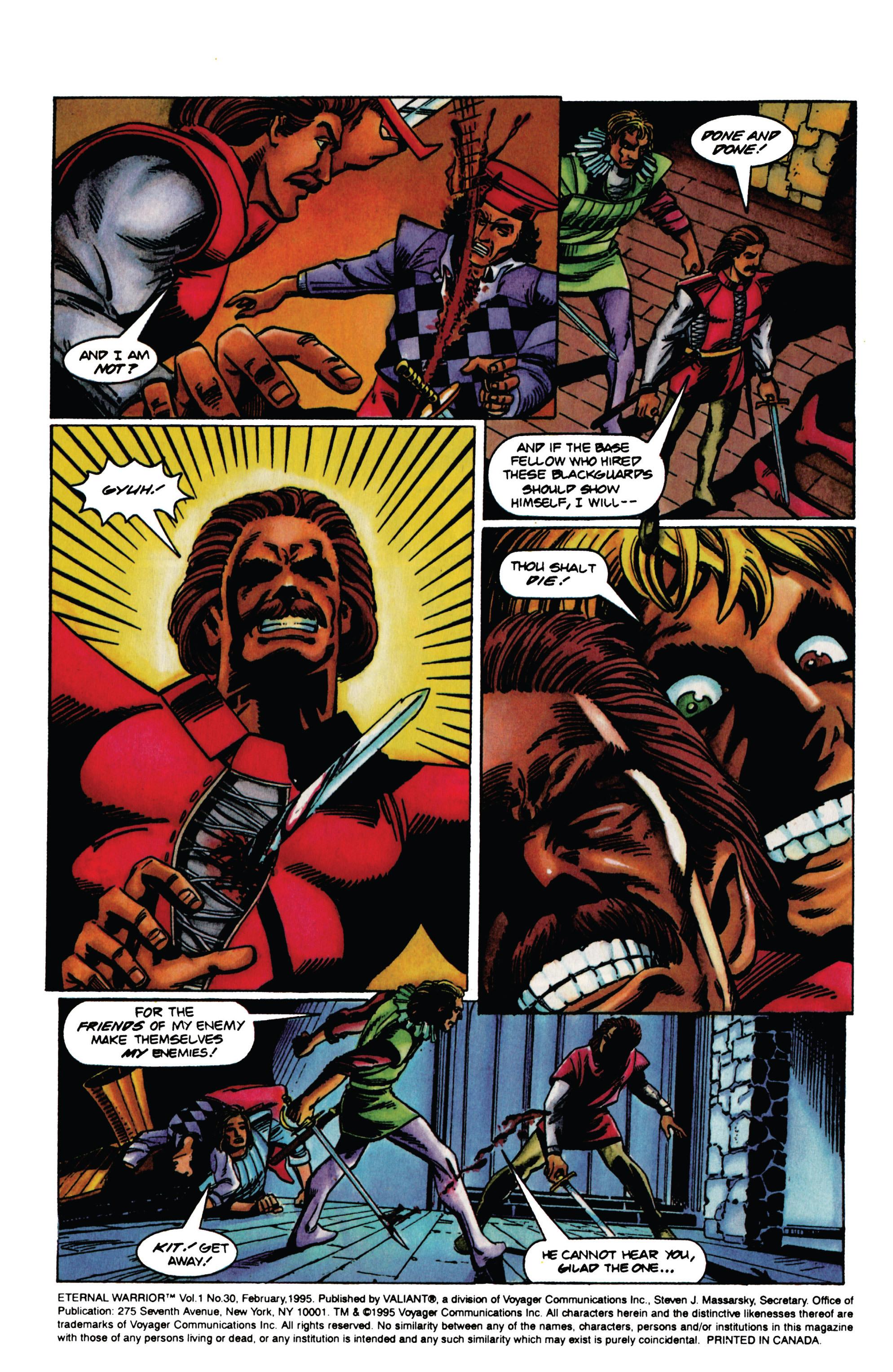 Read online Eternal Warrior (1992) comic -  Issue #30 - 5