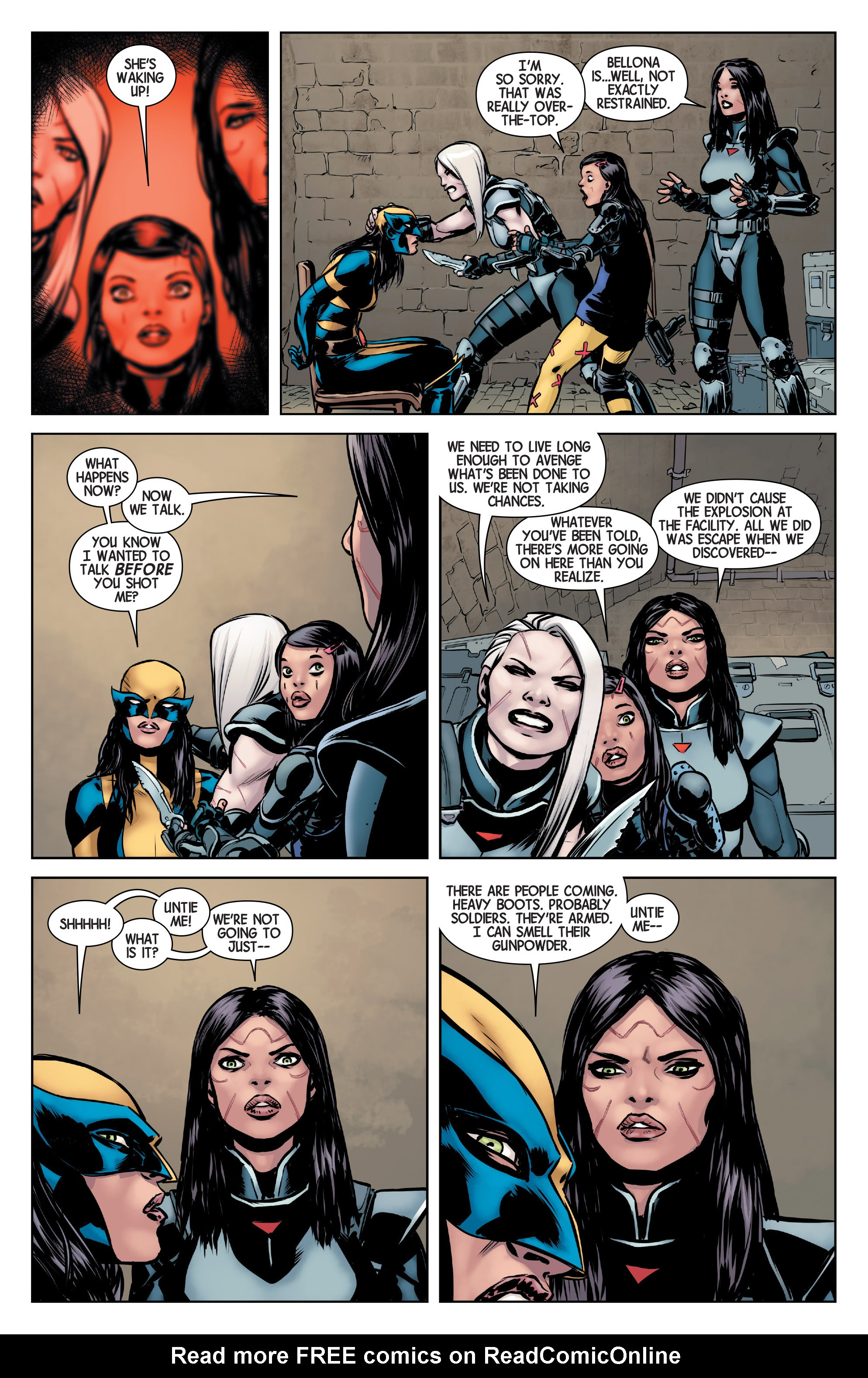 Read online All-New Wolverine (2016) comic -  Issue #2 - 17