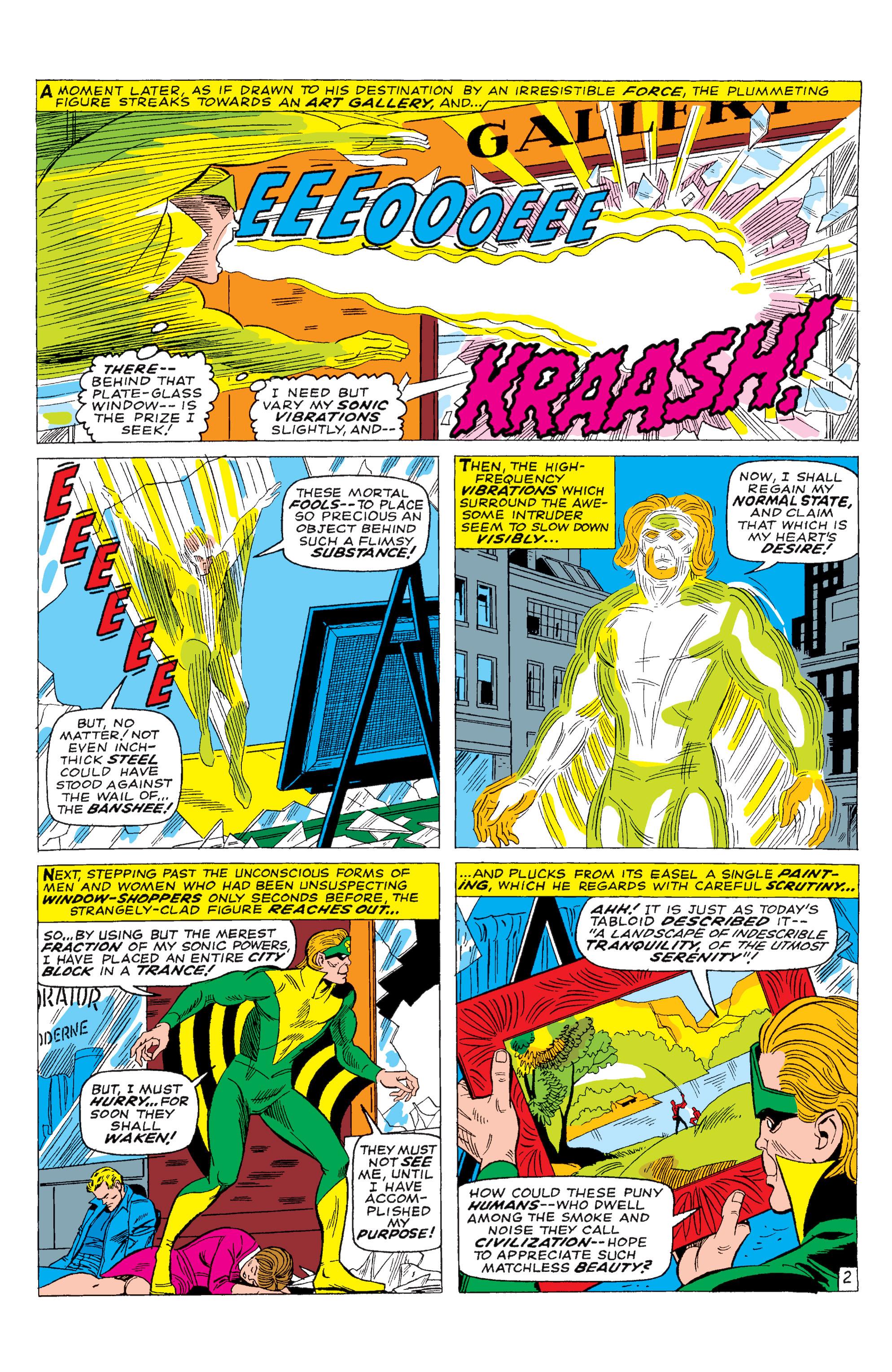 Read online Uncanny X-Men (1963) comic -  Issue #28 - 3