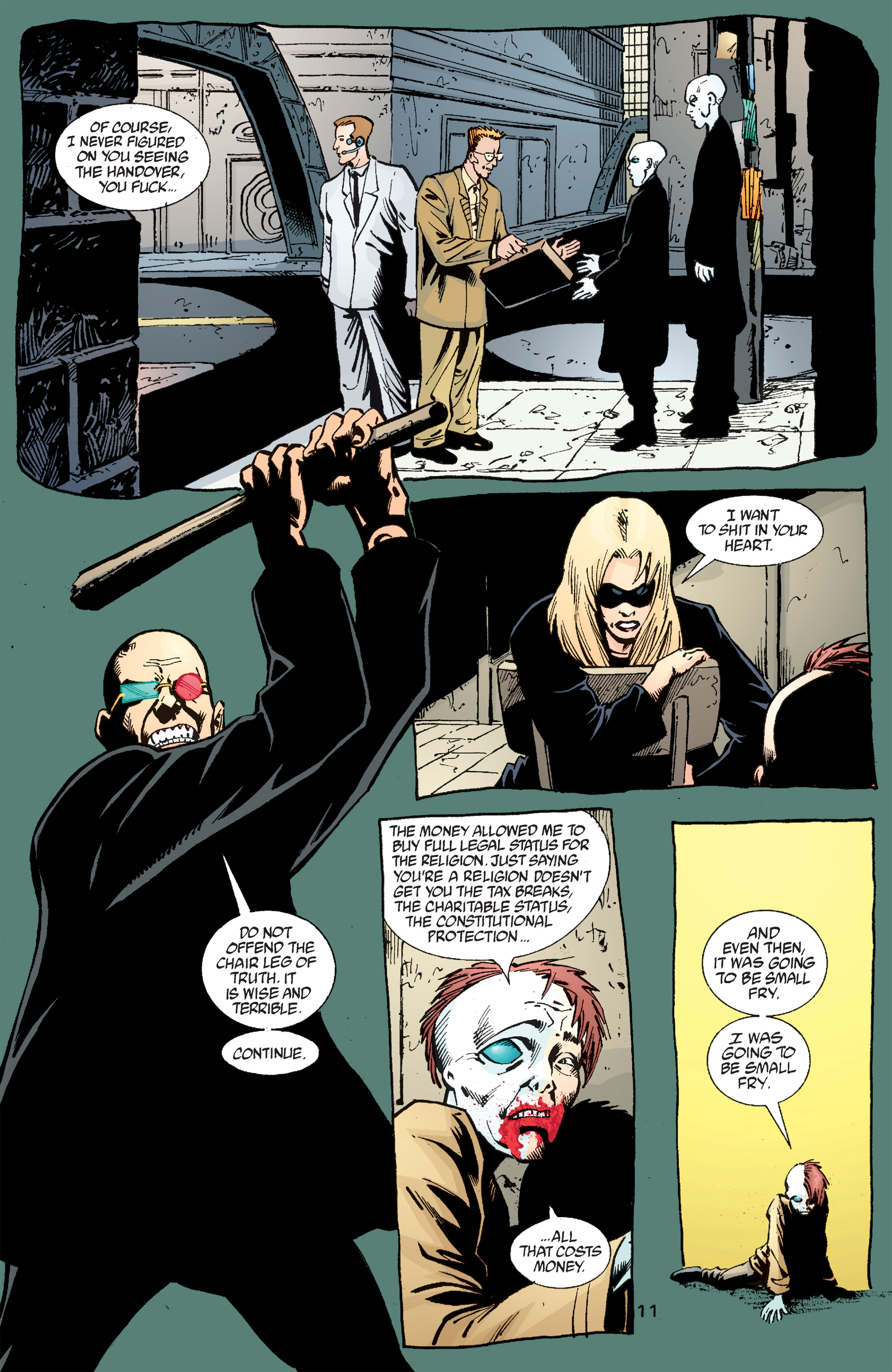 Read online Transmetropolitan comic -  Issue #50 - 12