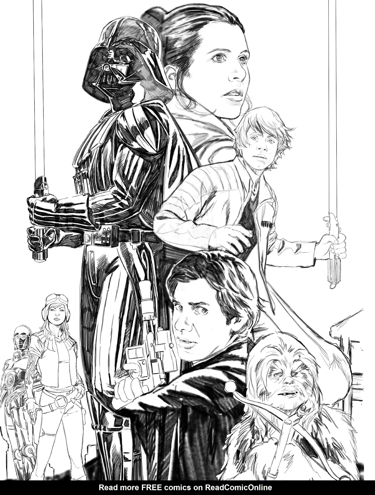 Read online The Marvel Art of Star Wars comic -  Issue # TPB (Part 2) - 98