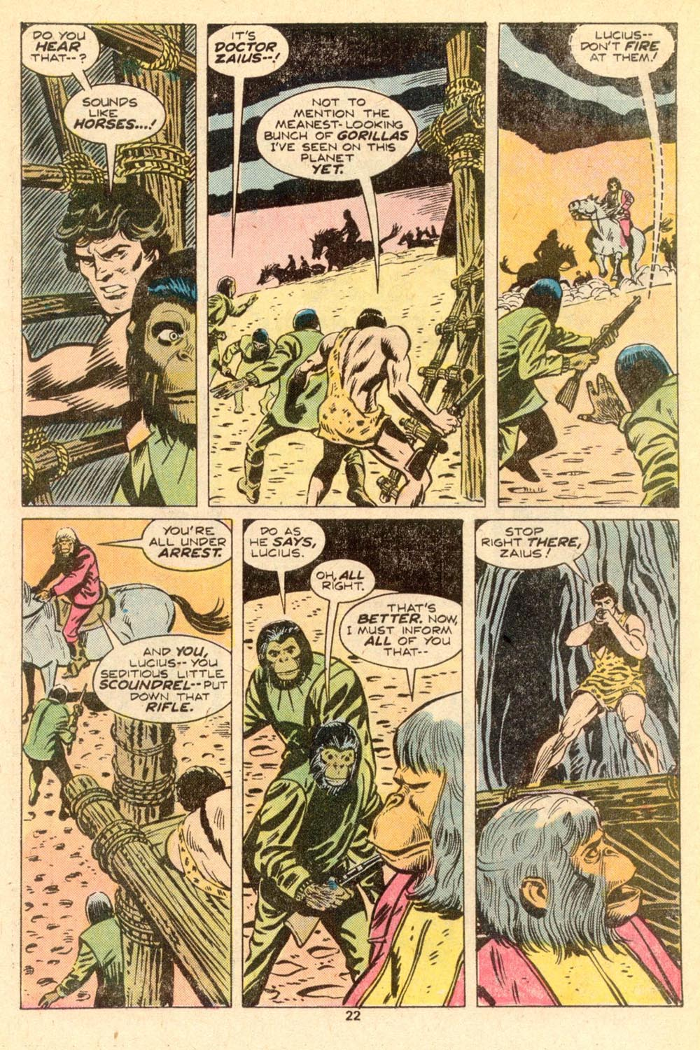 Read online Adventures on the Planet of the Apes comic -  Issue #5 - 15